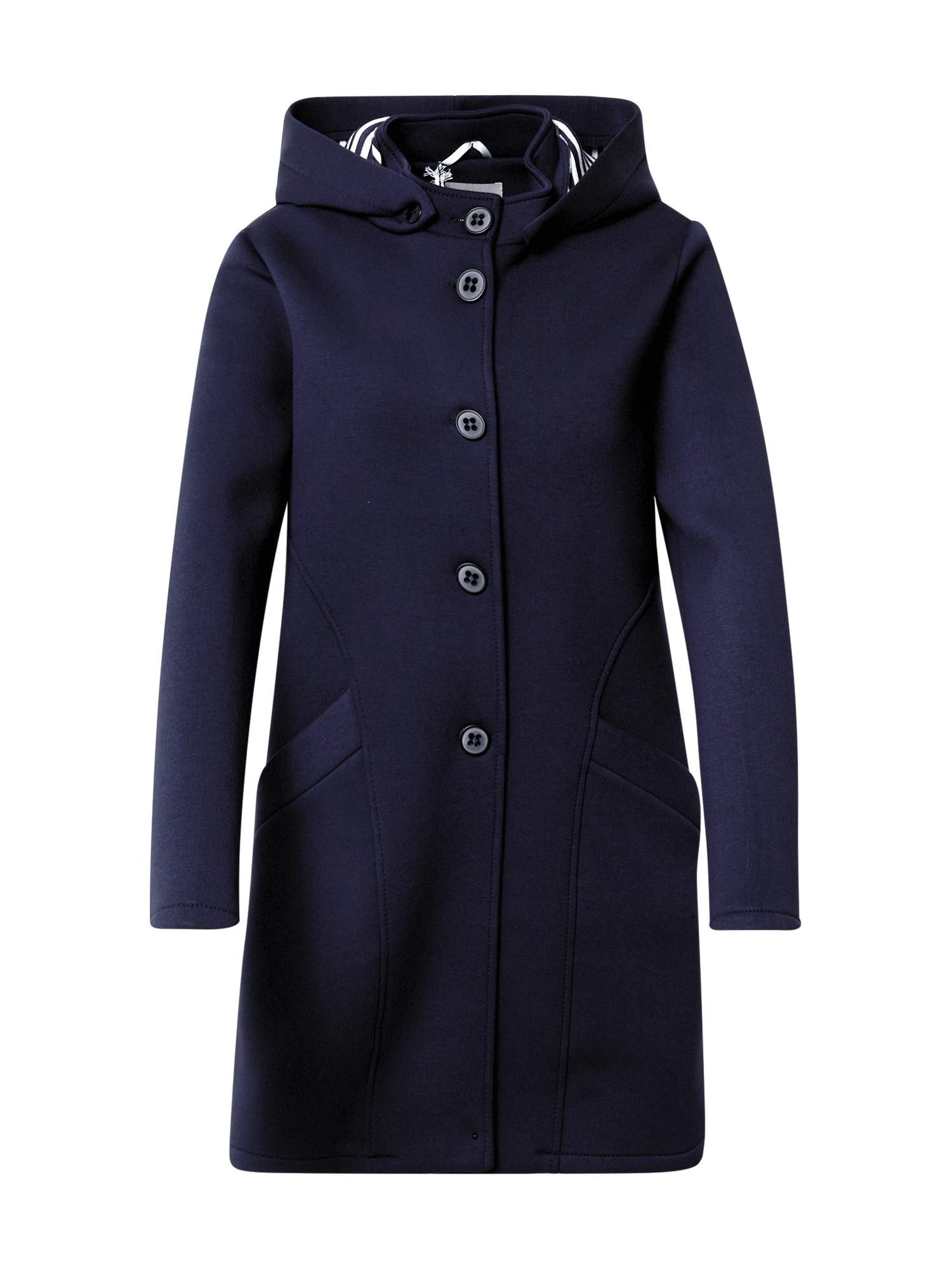 Amber & June Demisezoninis paltas nakties mėlyna