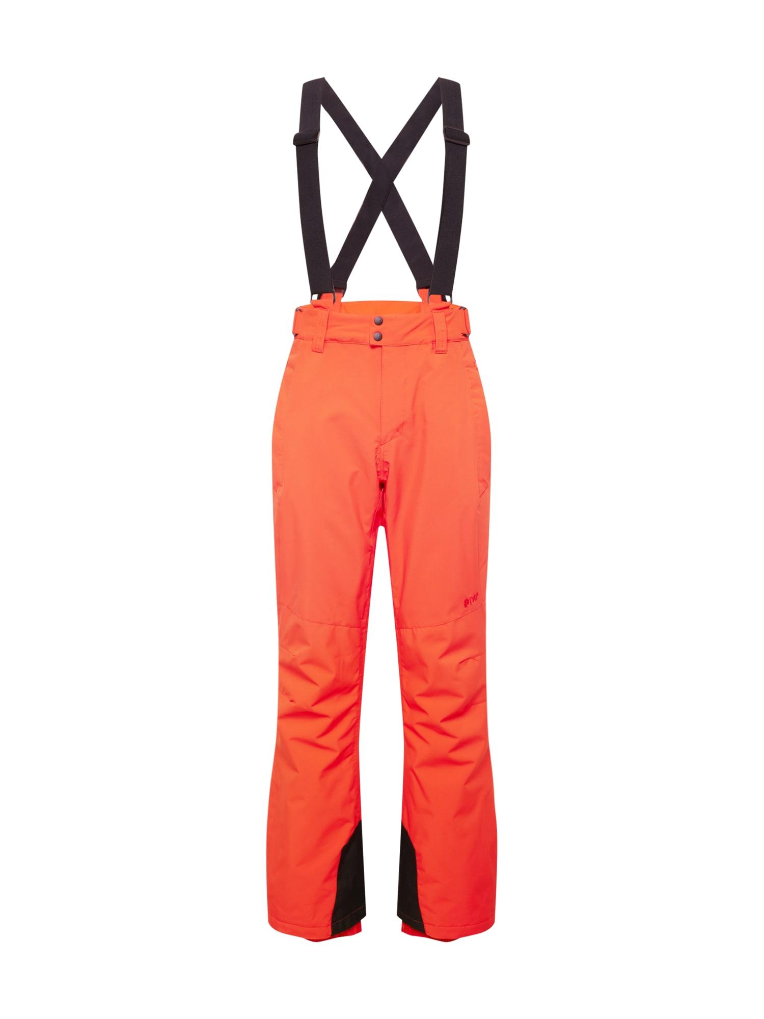 PROTEST Outdoorové kalhoty  oranžová