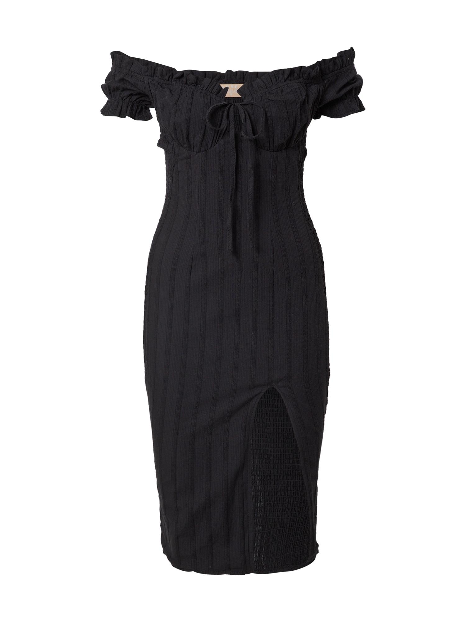 Love Triangle Suknelė juoda