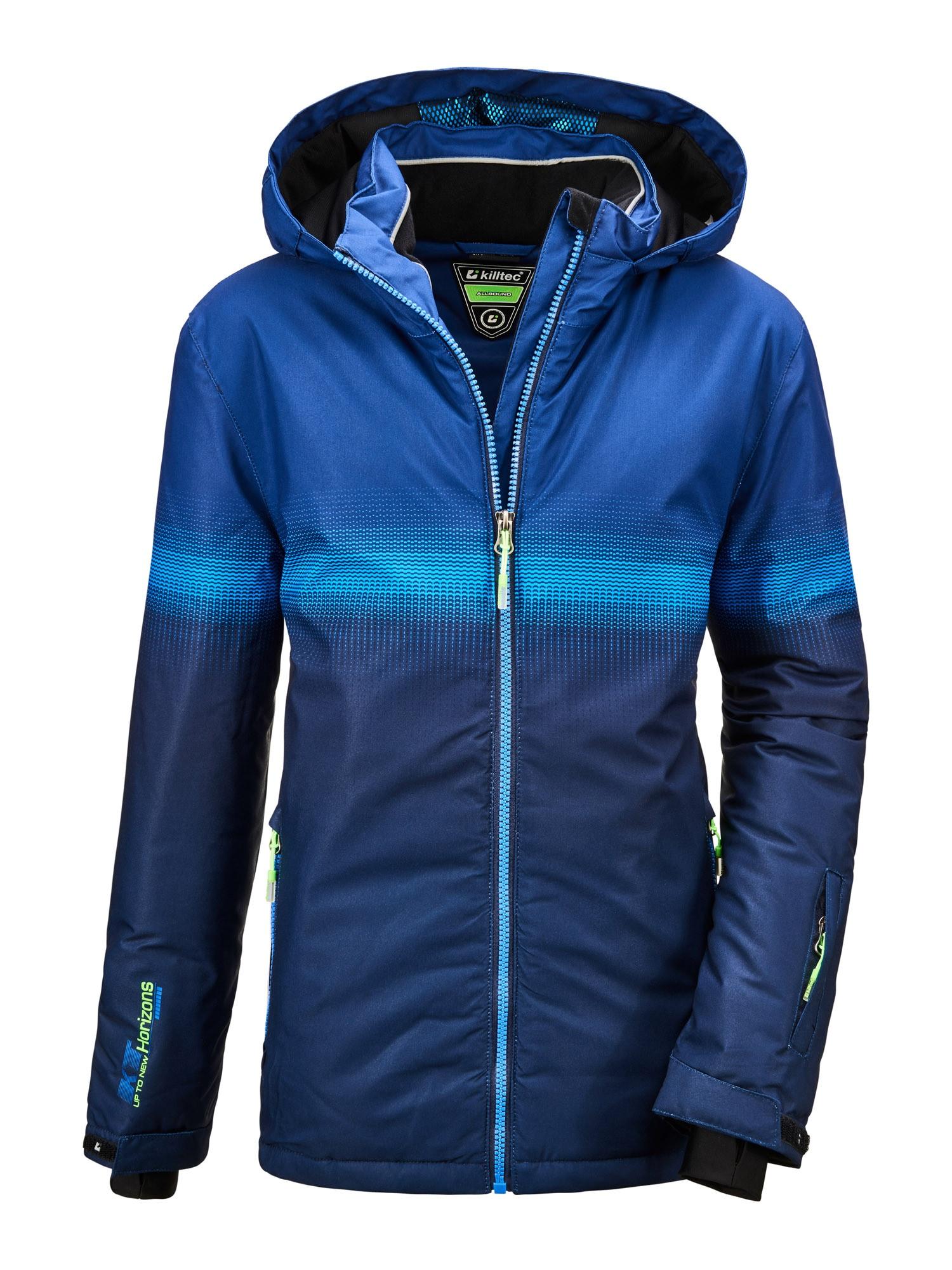 KILLTEC Outdoorová bunda 'Glenshee'  námořnická modř / modrá / světlemodrá / černá