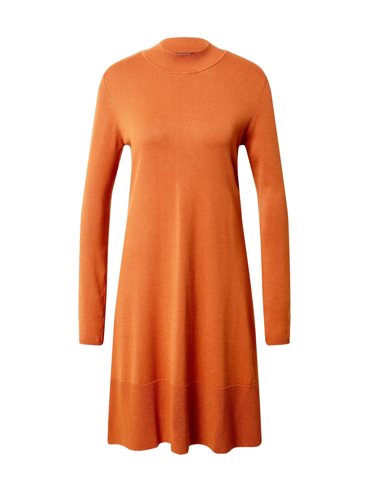 Esprit Collection Megzta suknelė rusva
