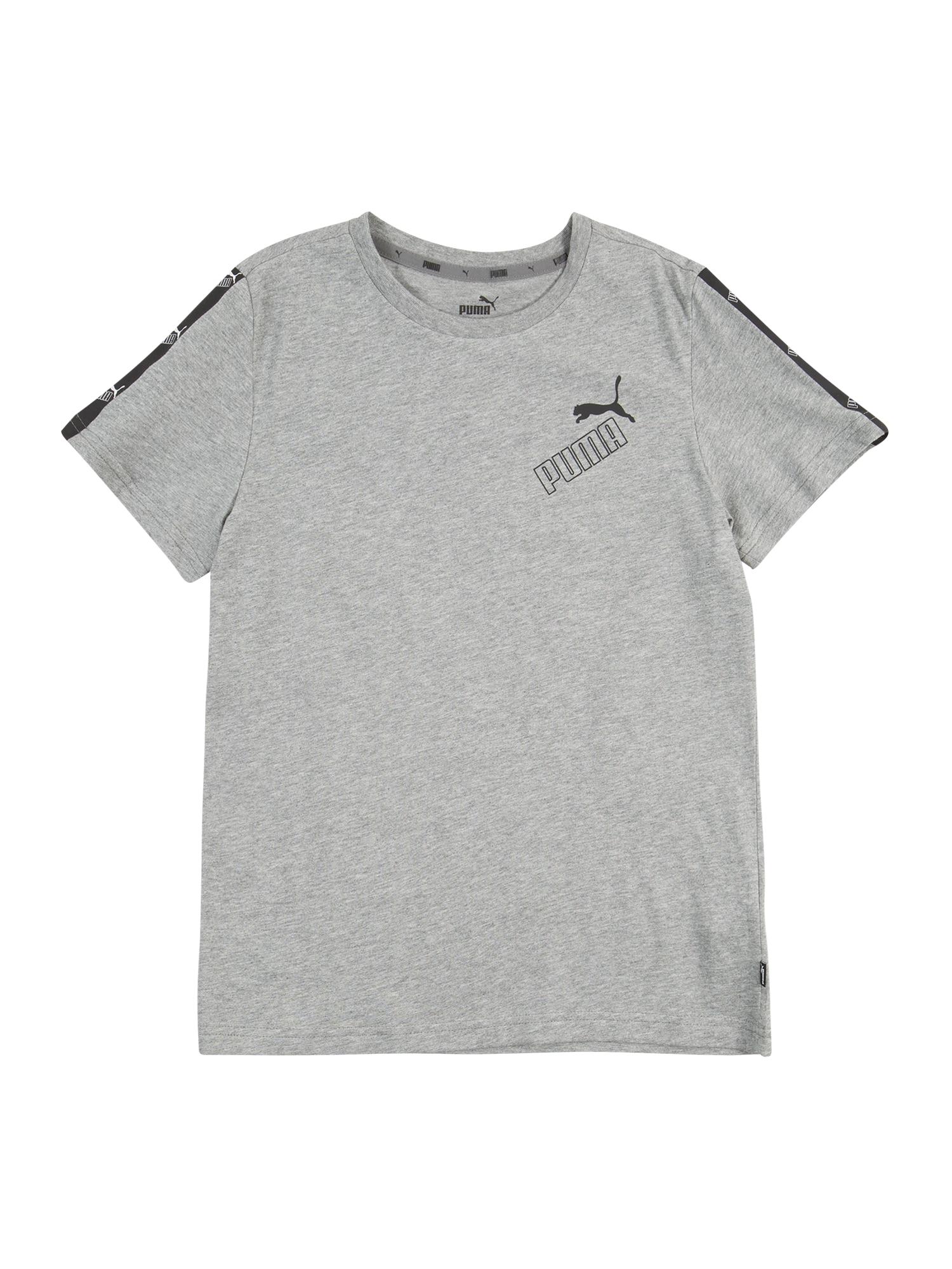 PUMA Funkční tričko 'Amplified'  šedá / černá