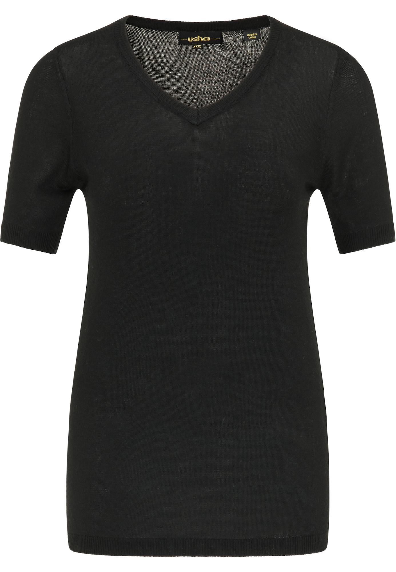 usha BLACK LABEL Megztinis juoda