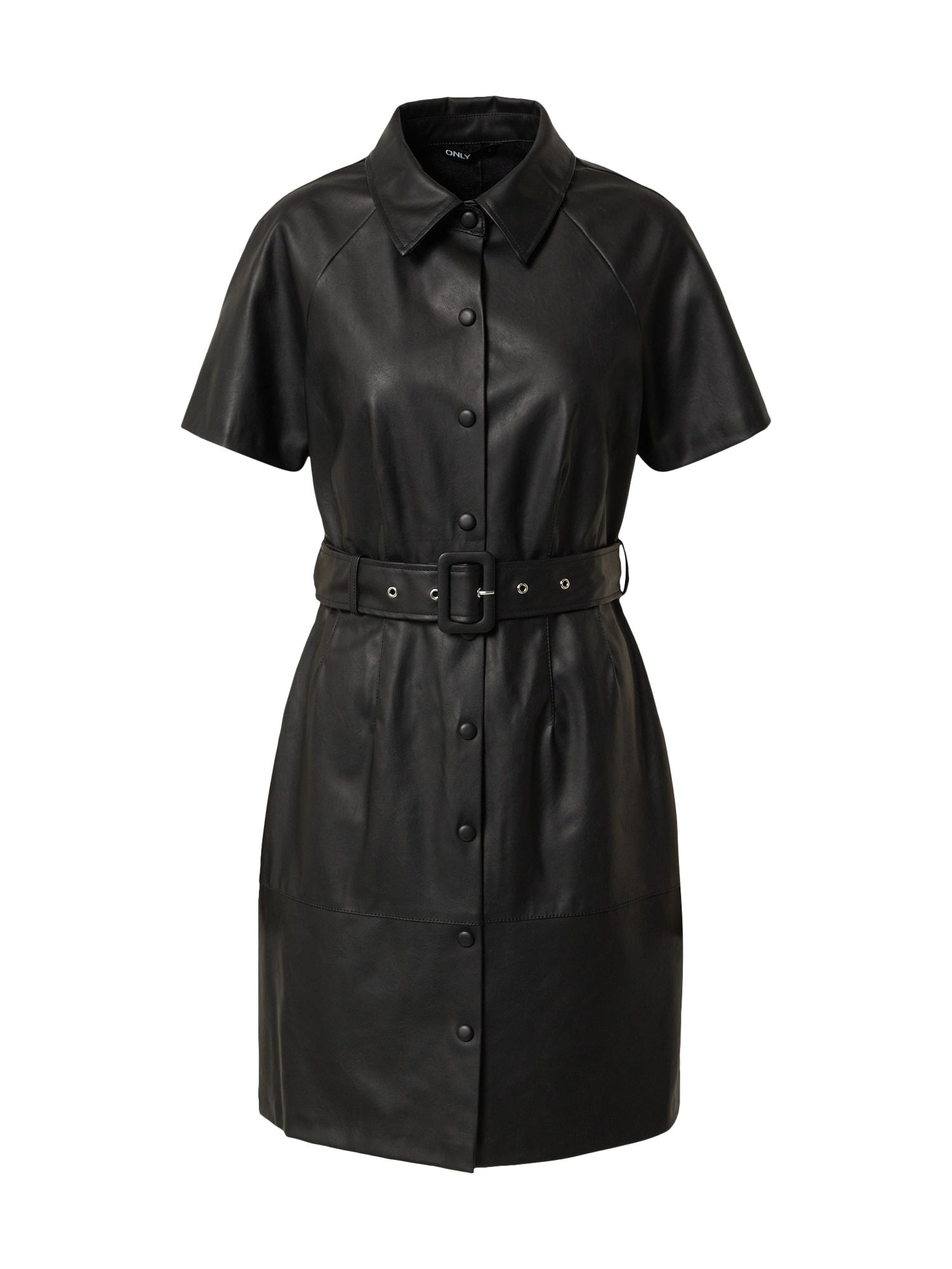 ONLY Košilové šaty 'DIZZY'  černá