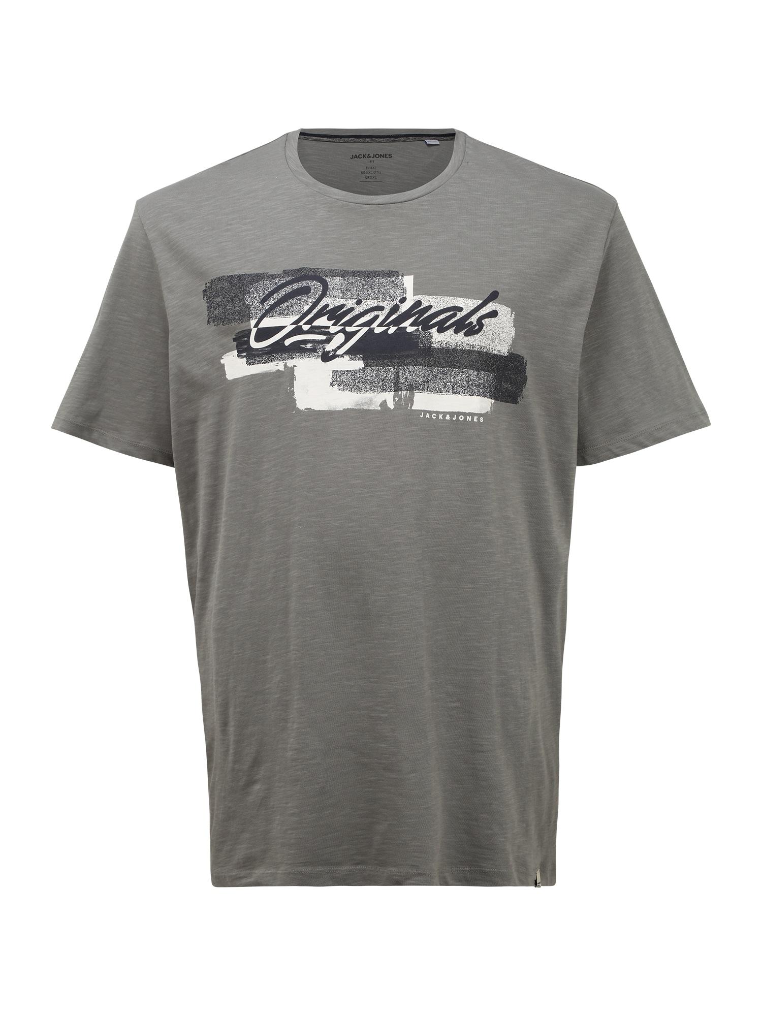 Jack & Jones Plus Marškinėliai antracito spalva / mišrios spalvos