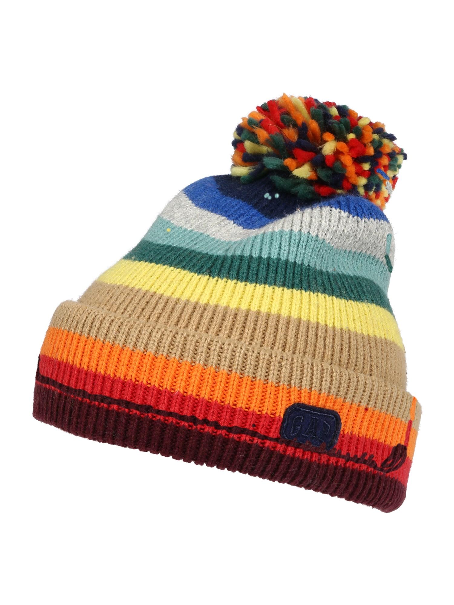 GAP Megzta kepurė mišrios spalvos