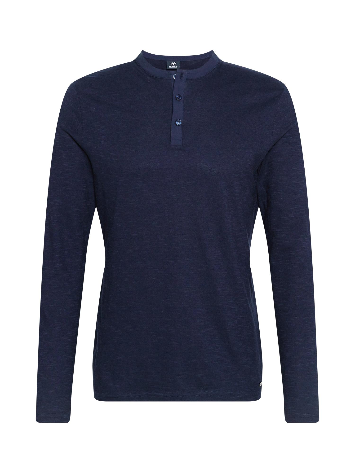 STRELLSON Marškinėliai tamsiai mėlyna