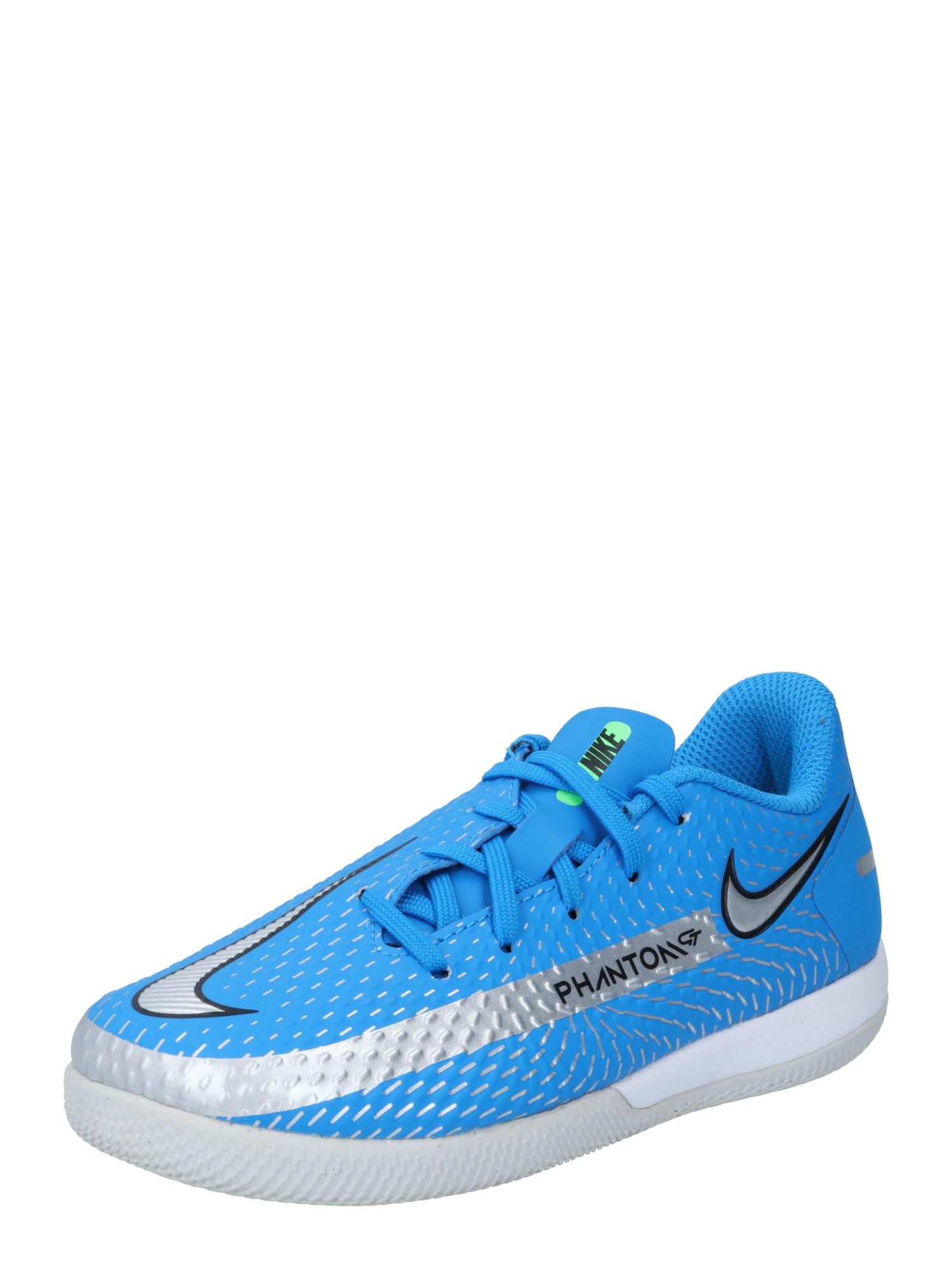 NIKE Sportiniai batai 'Phantom' mėlyna / pilka / juoda