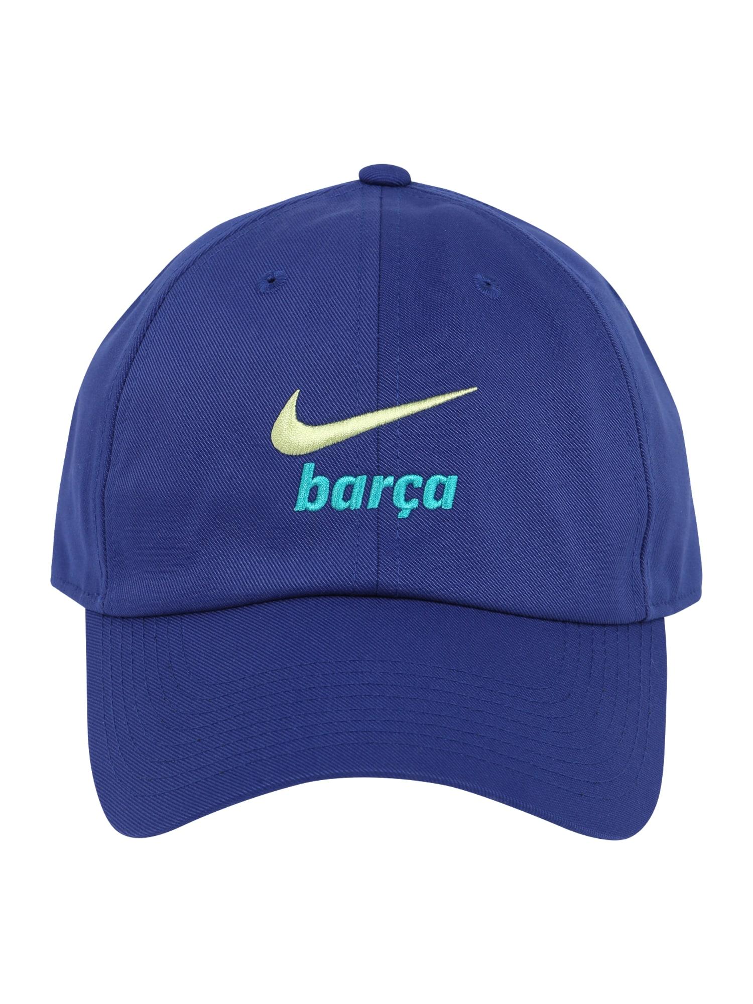 NIKE Sportovní kšiltovka 'BLAUGDI'  královská modrá / bílá / aqua modrá