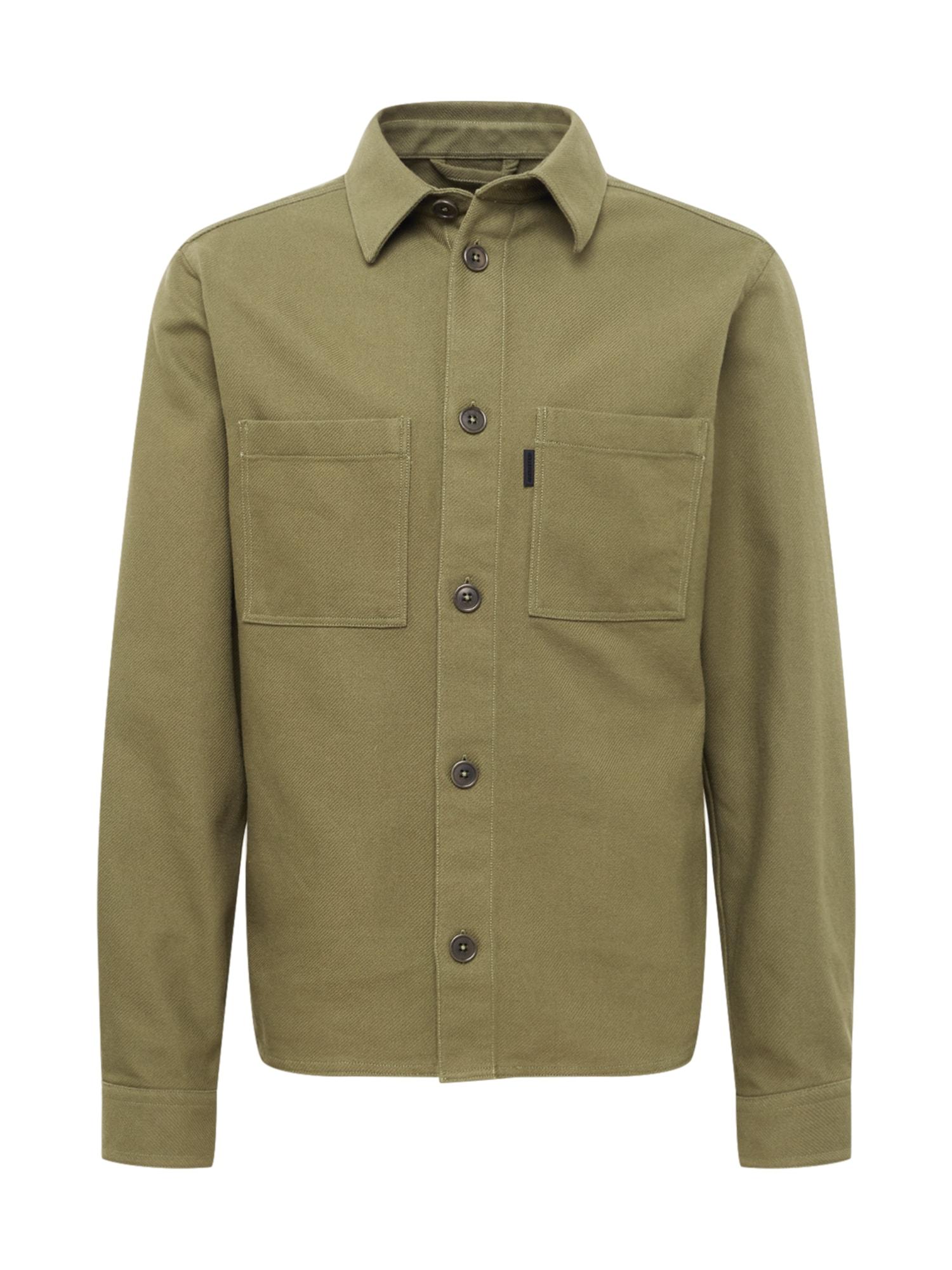 J.Lindeberg Marškiniai alyvuogių spalva