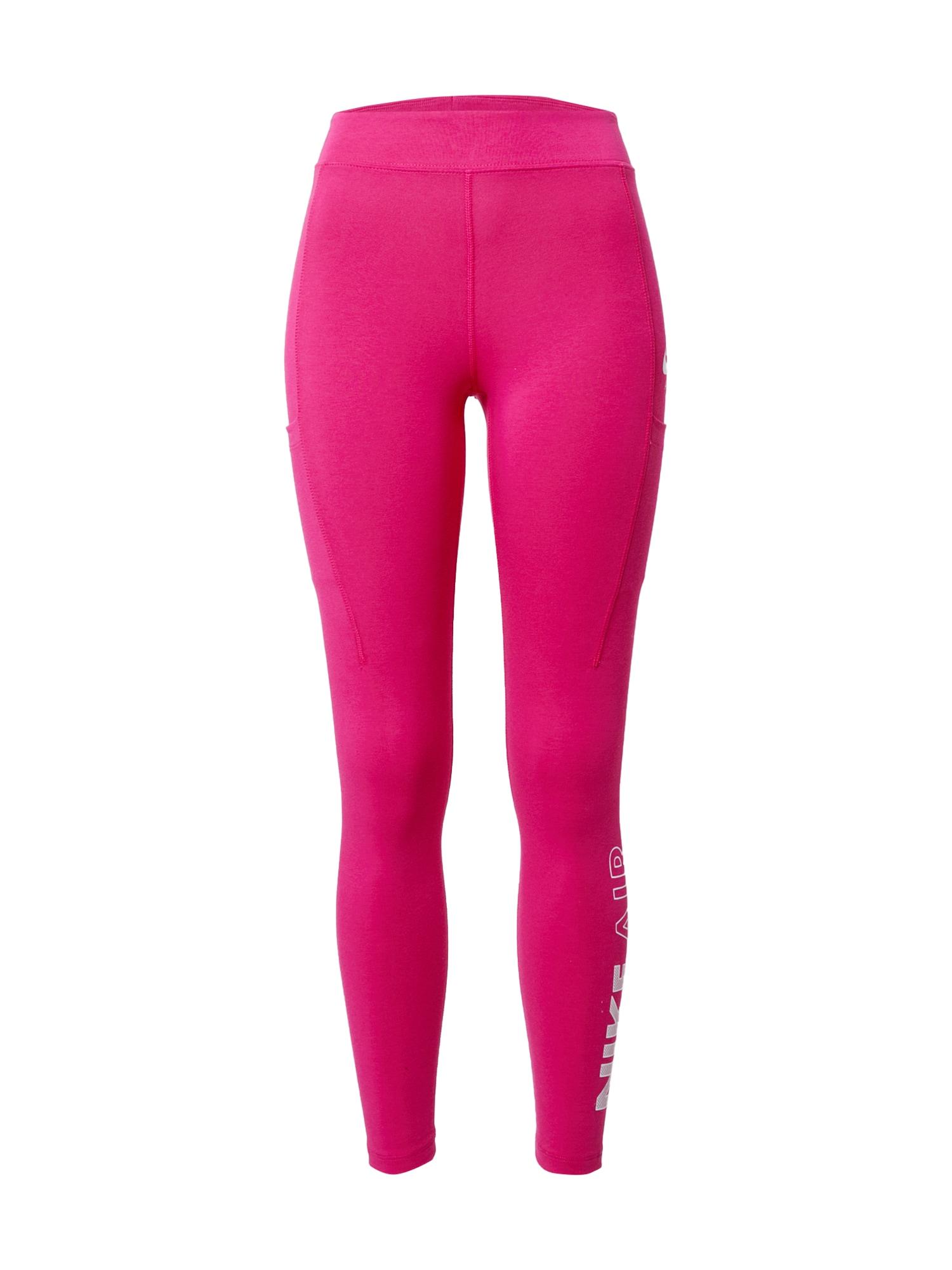 Nike Sportswear Tamprės rožinė / balta