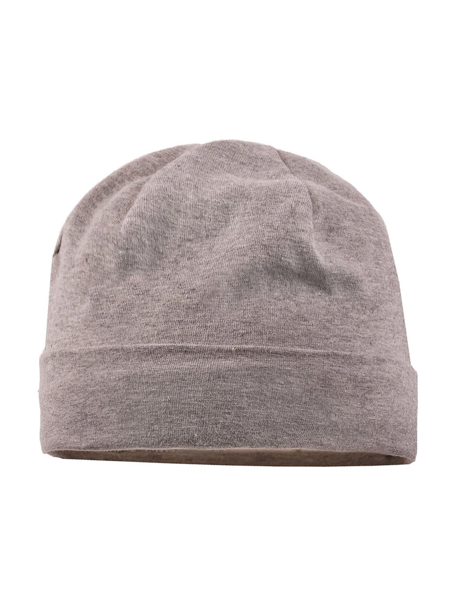 MAXIMO Megzta kepurė rusvai pilka