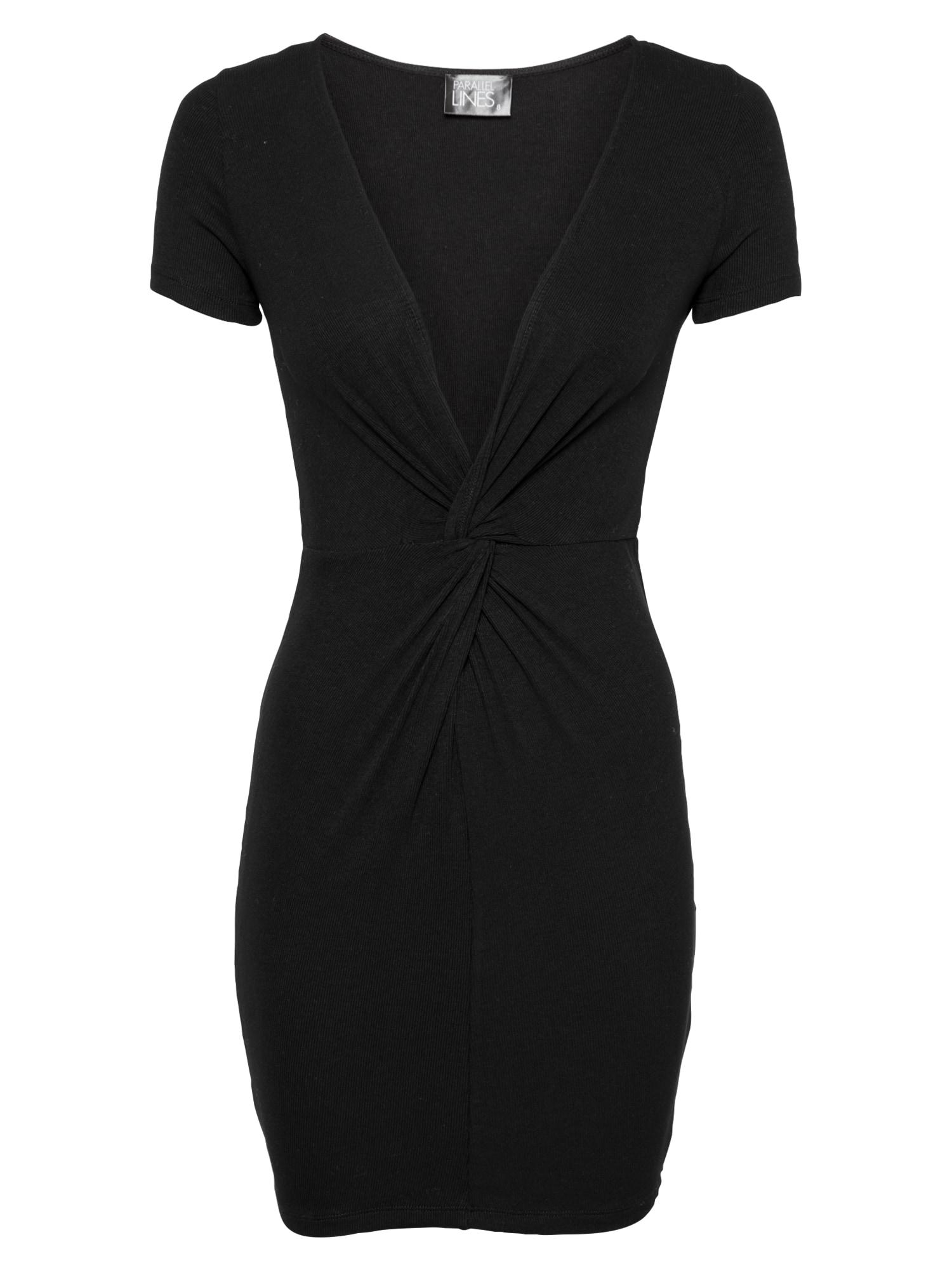 Parallel Lines Suknelė juoda