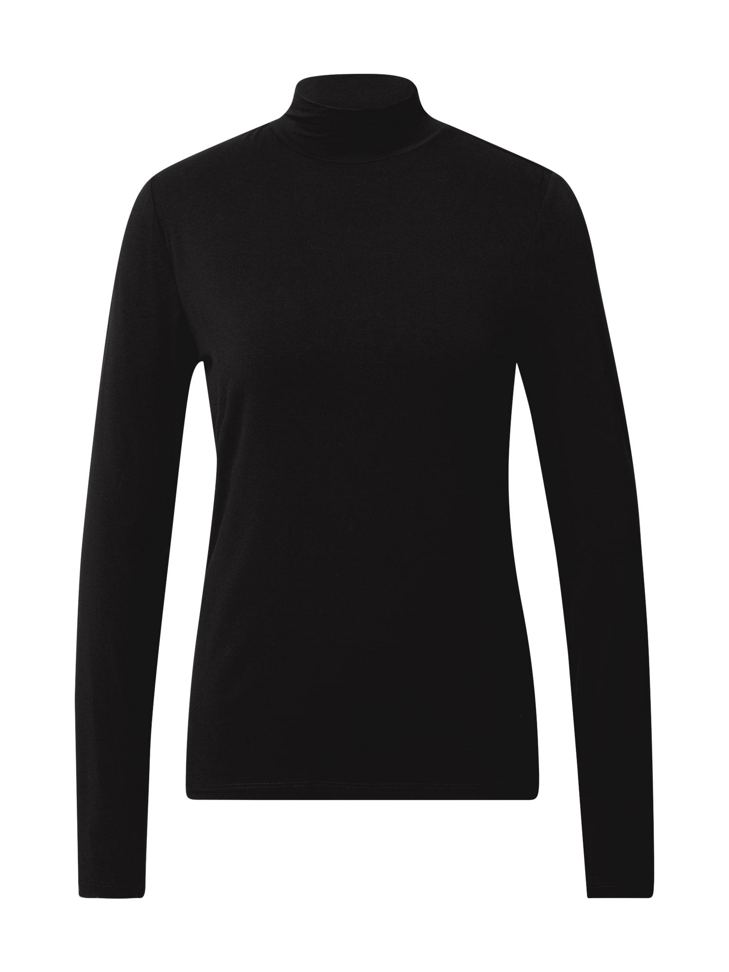 VILA Tričko  černá