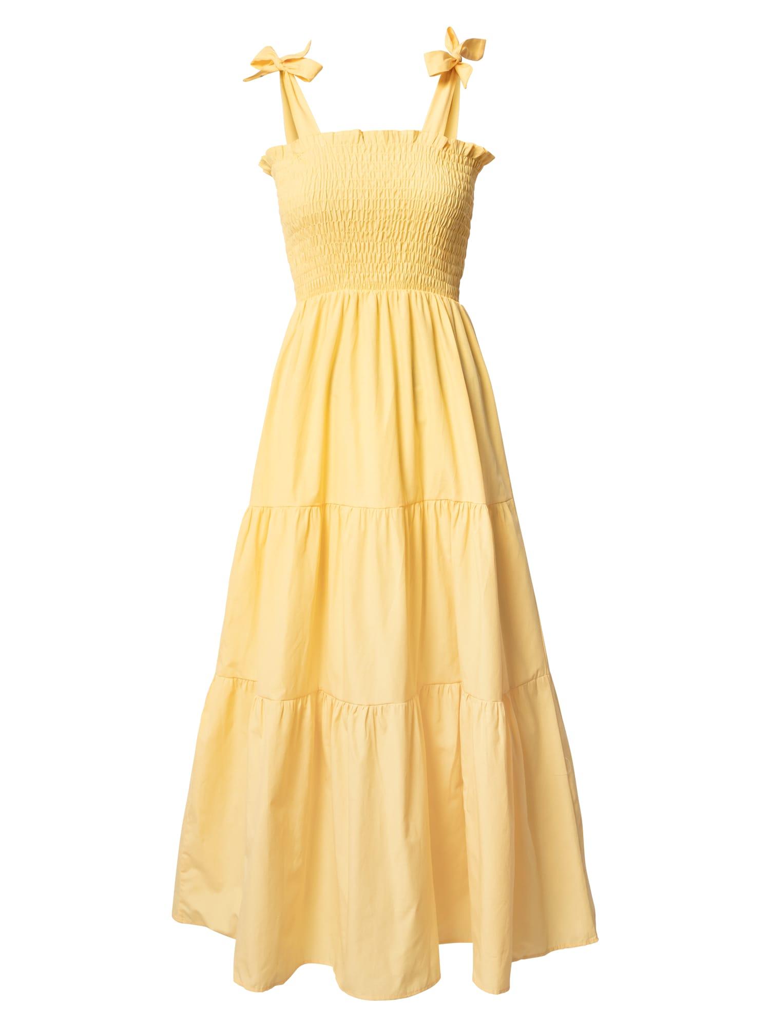 DeFacto Letní šaty  žlutá