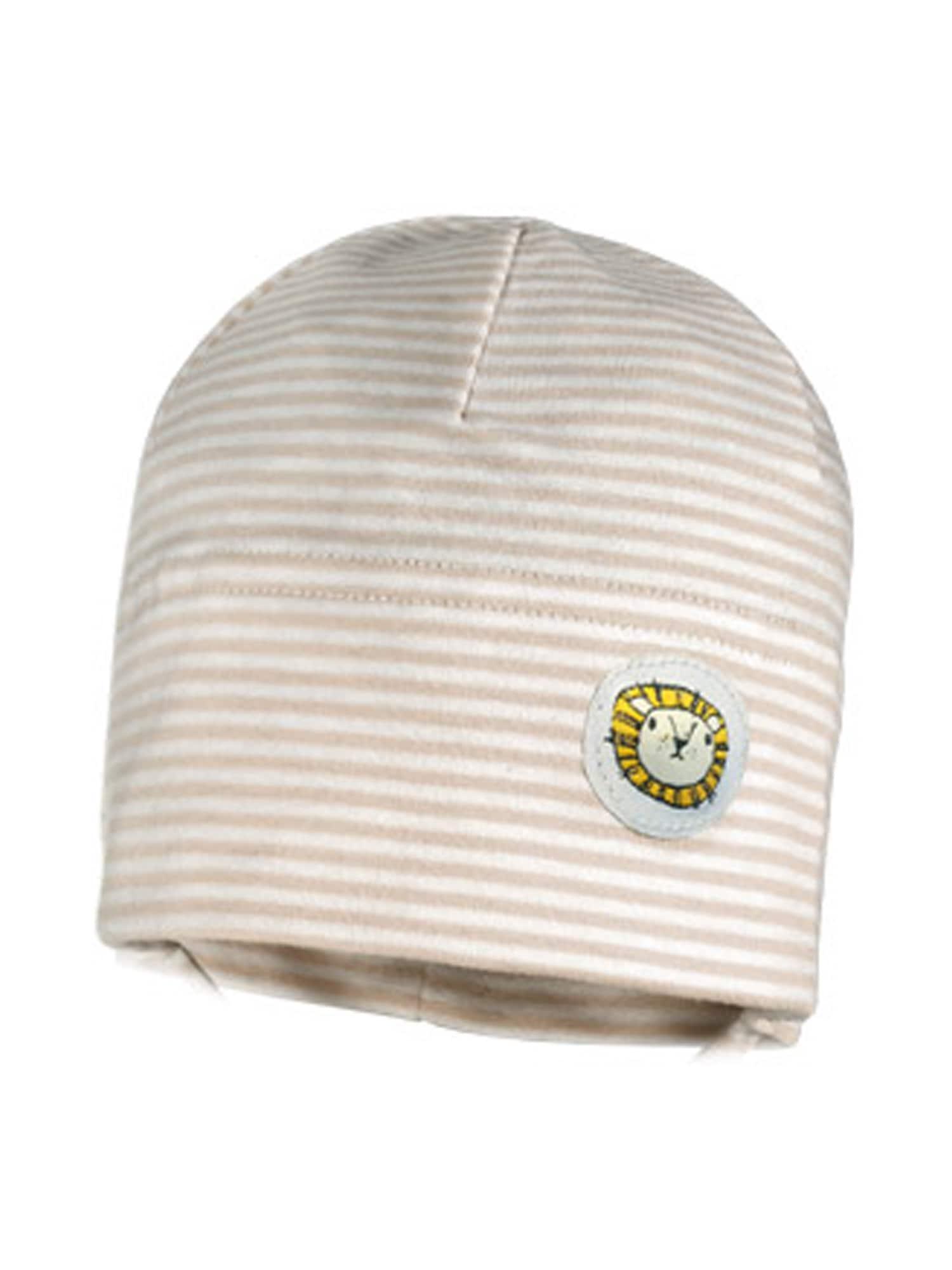 MAXIMO Megzta kepurė smėlio / kremo