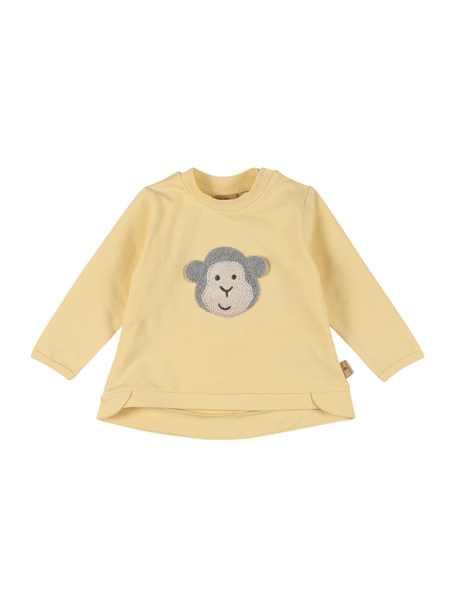BELLYBUTTON Megztinis be užsegimo geltona / glaisto spalva / pilka / tamsiai pilka