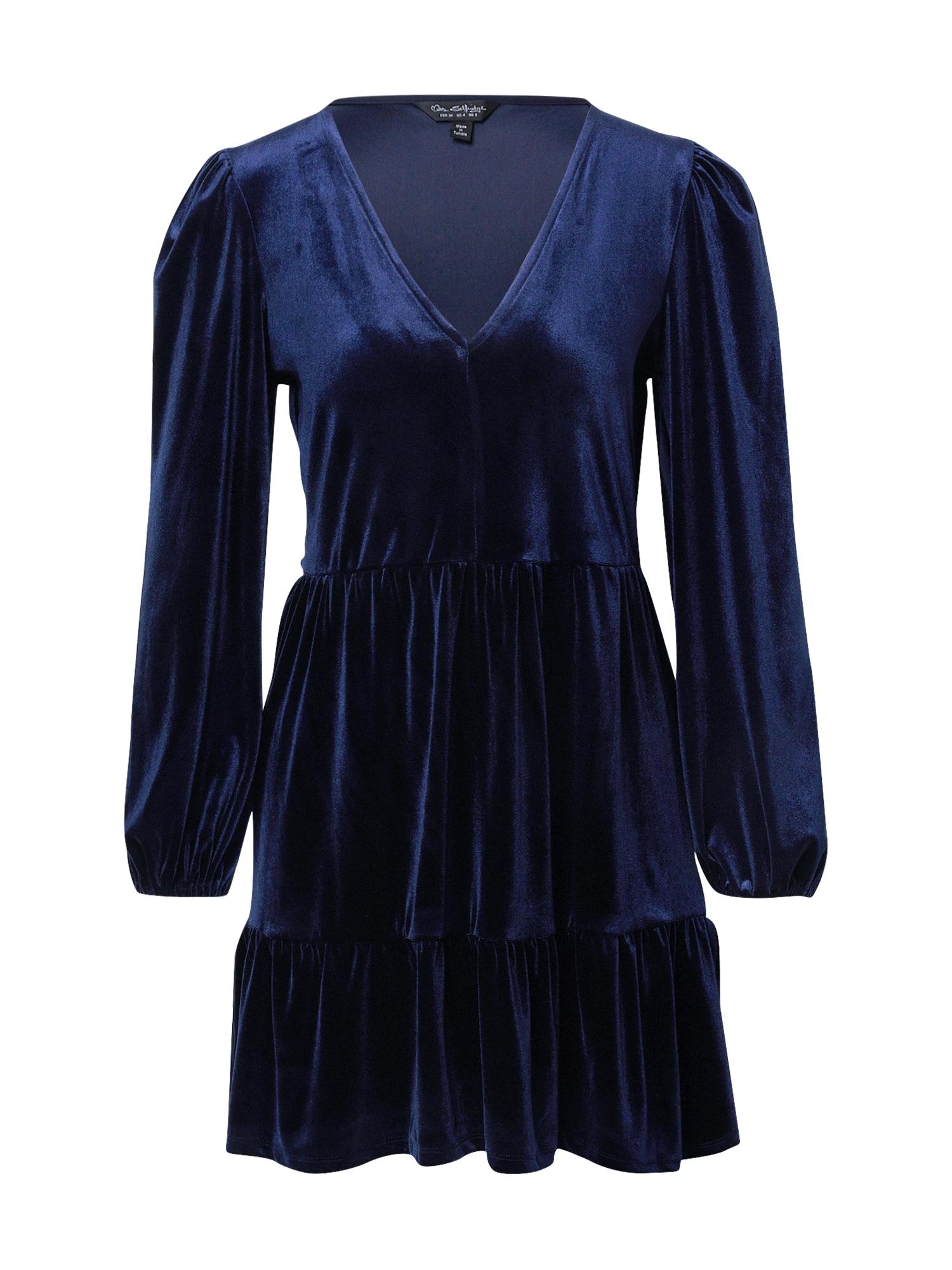 Miss Selfridge Šaty 'Midniht'  modrá