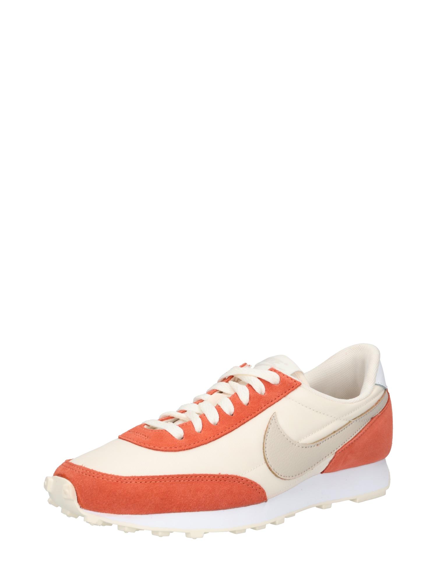 Nike Sportswear Nízke tenisky 'Daybreak'  krémová / tmavošedá / tmavooranžová.