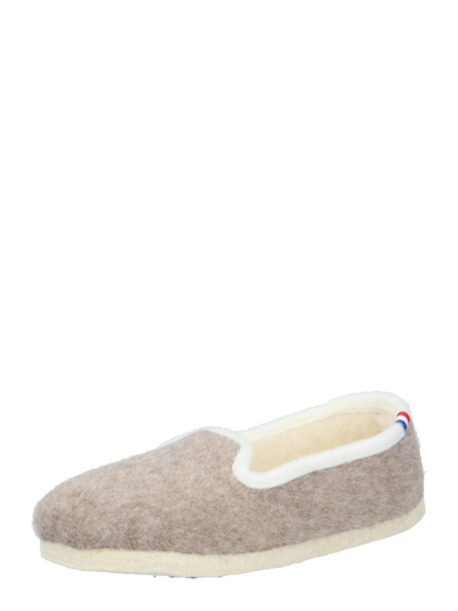 espadrij l´originale Naminės šlepetės balta / smėlio