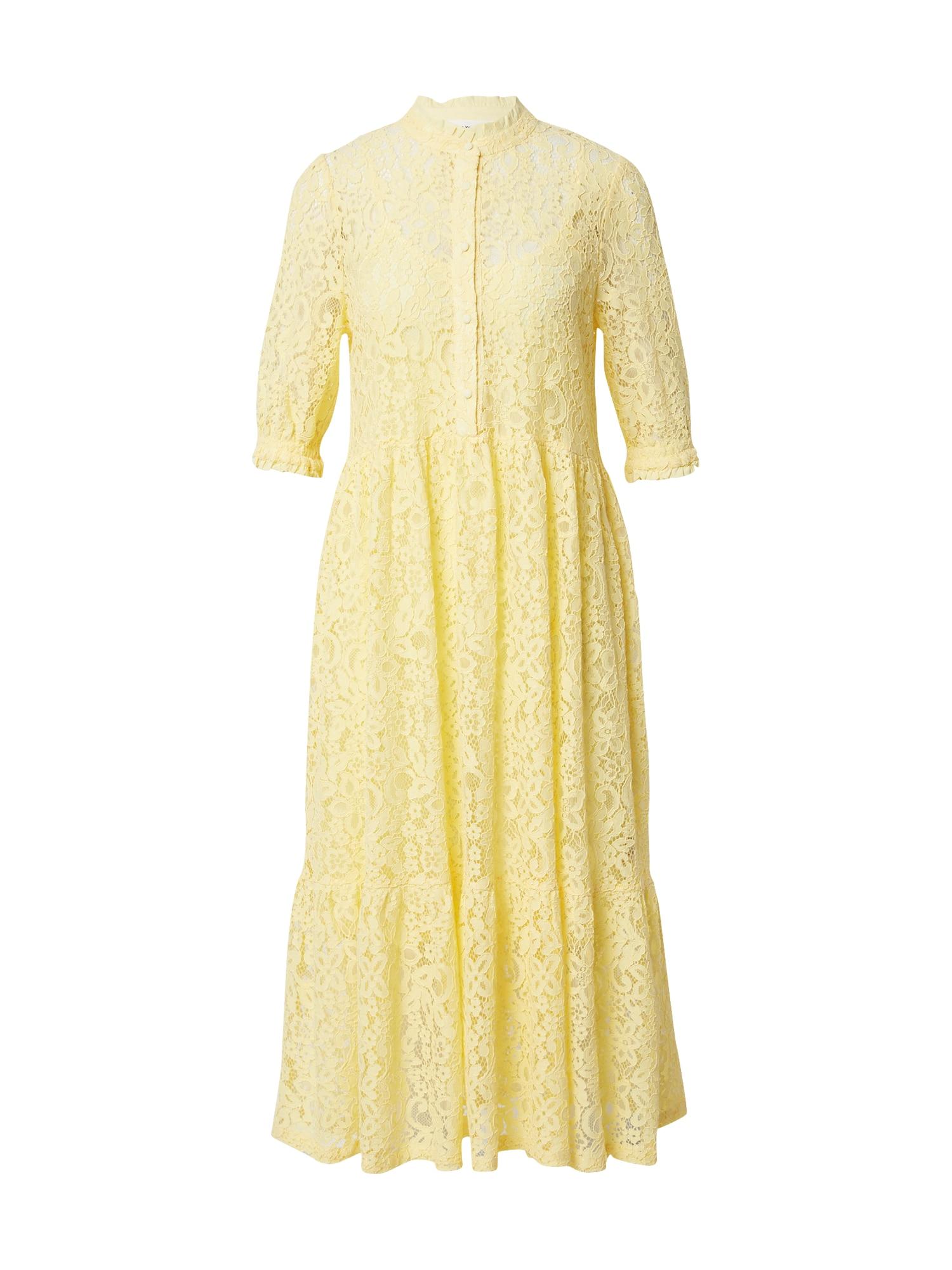 rosemunde Palaidinės tipo suknelė geltona