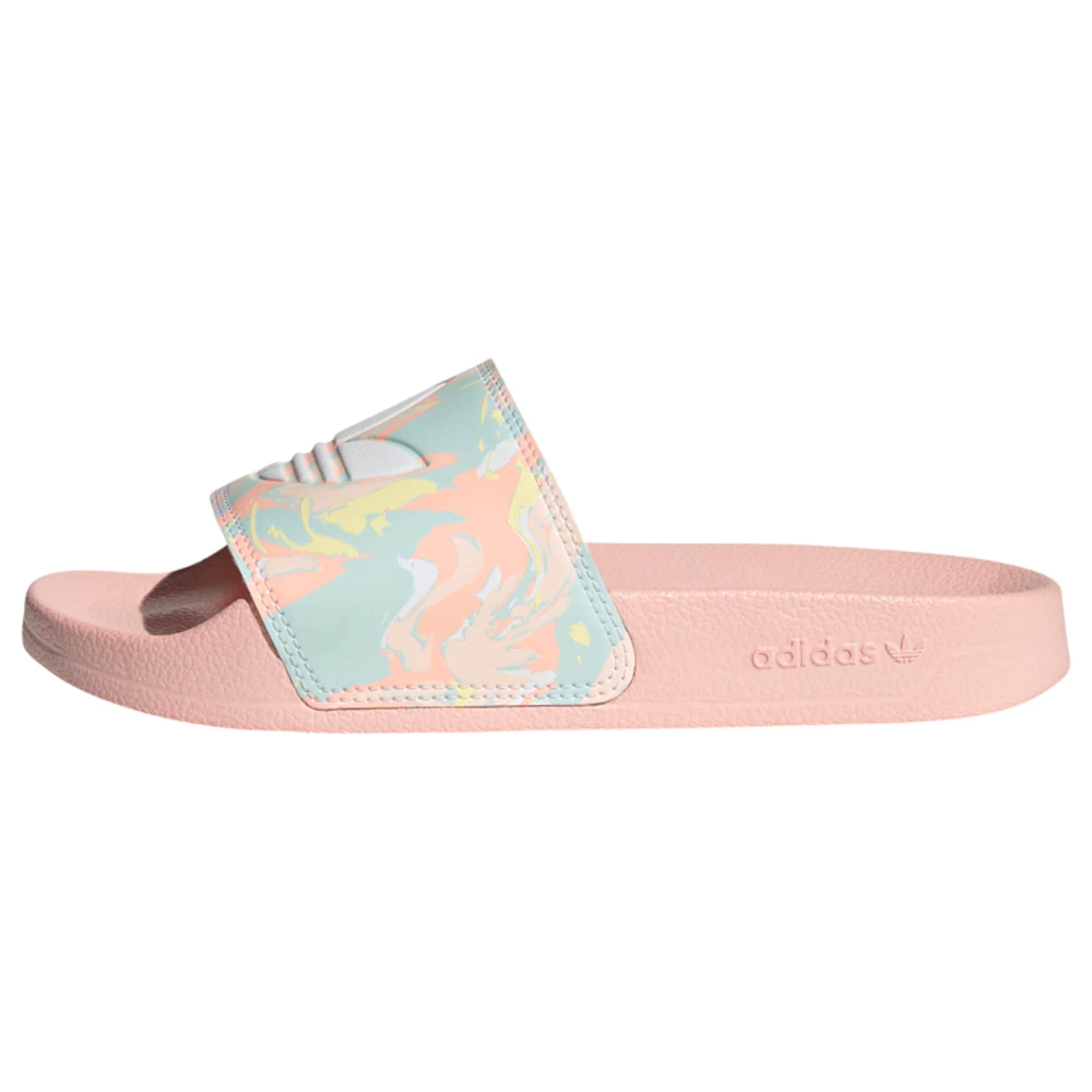 ADIDAS ORIGINALS Atviri batai rožių spalva / šviesiai mėlyna / koralų splava / šviesiai geltona