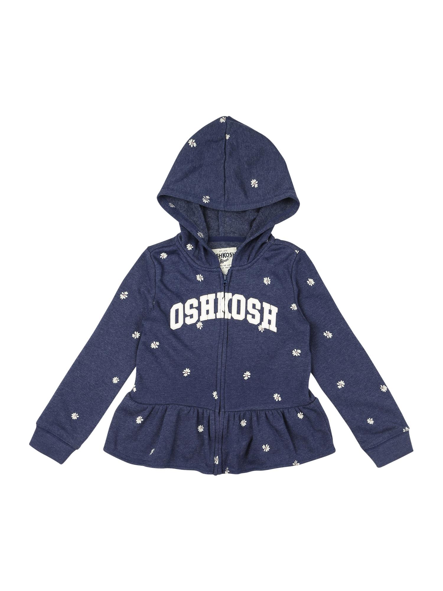 OshKosh Džemperis tamsiai mėlyna / balta