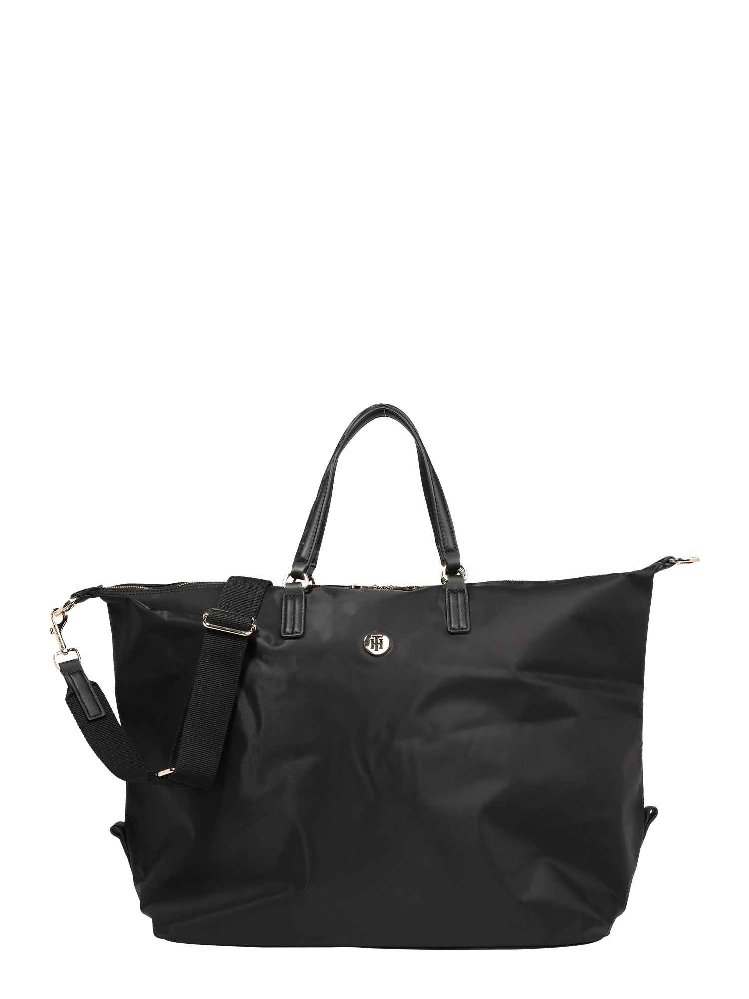 TOMMY HILFIGER Kelioninis krepšys juoda