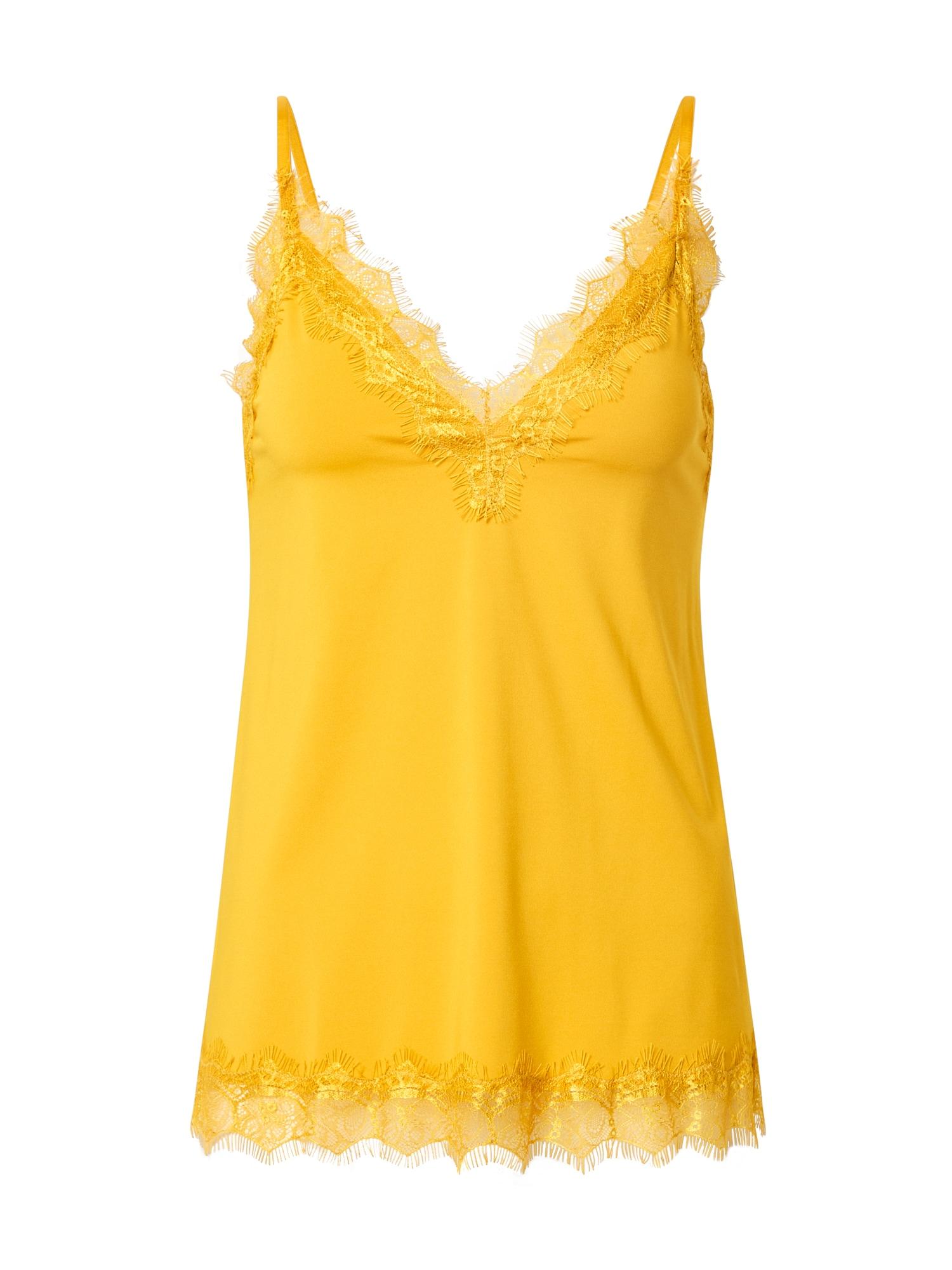 rosemunde Top  zlatě žlutá