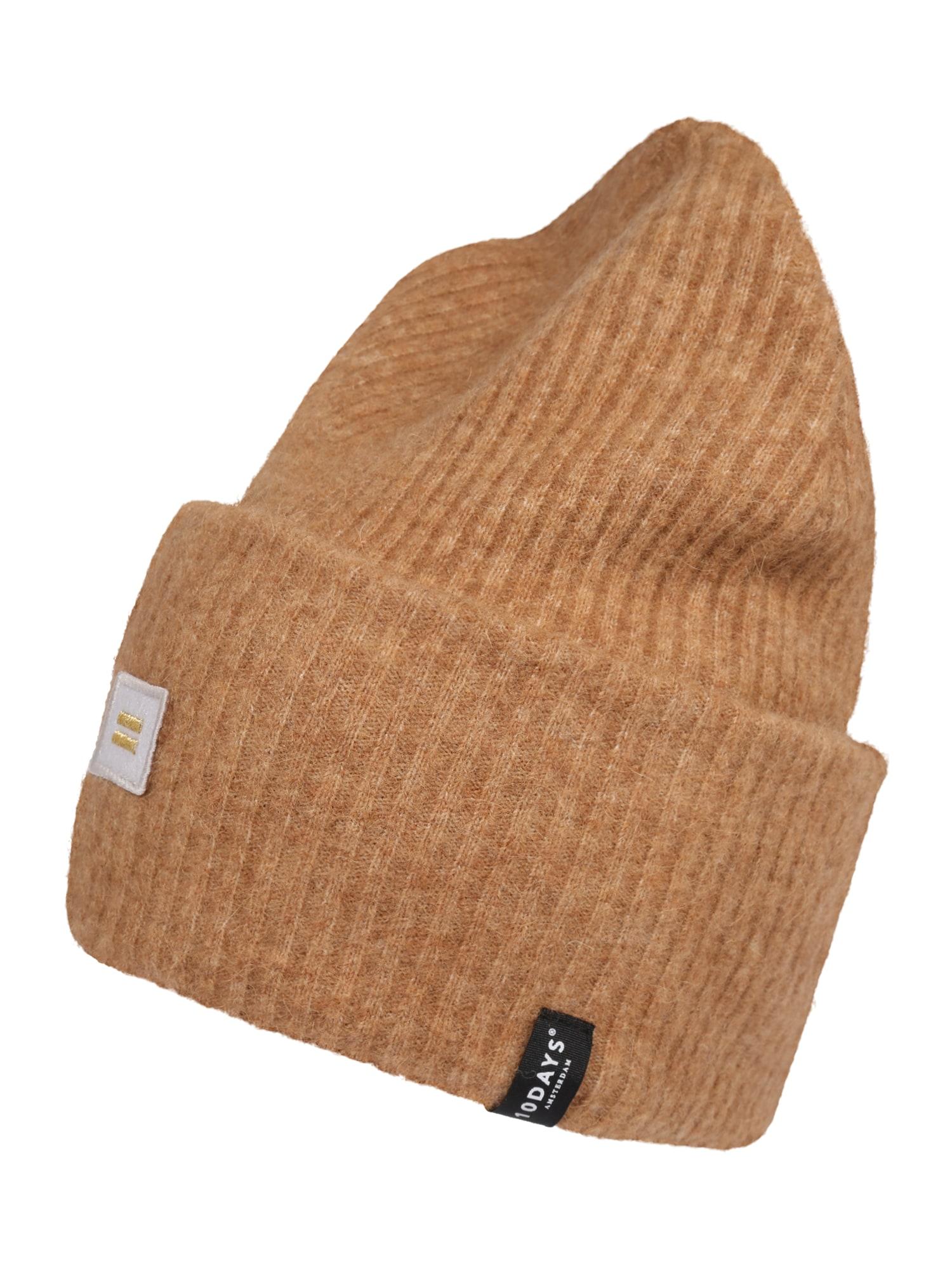 10Days Megzta kepurė karamelės