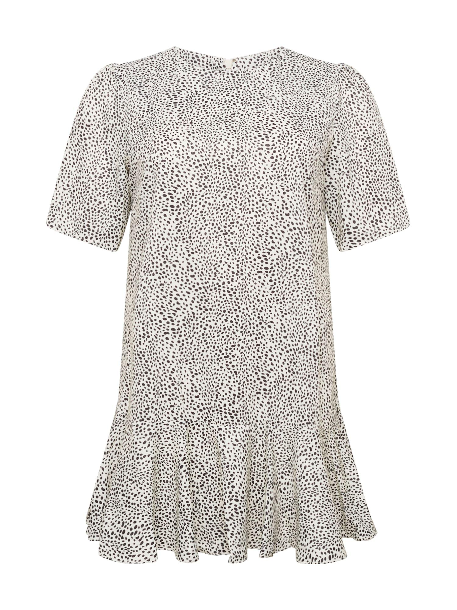 Chi Chi Curve Suknelė balta / juoda