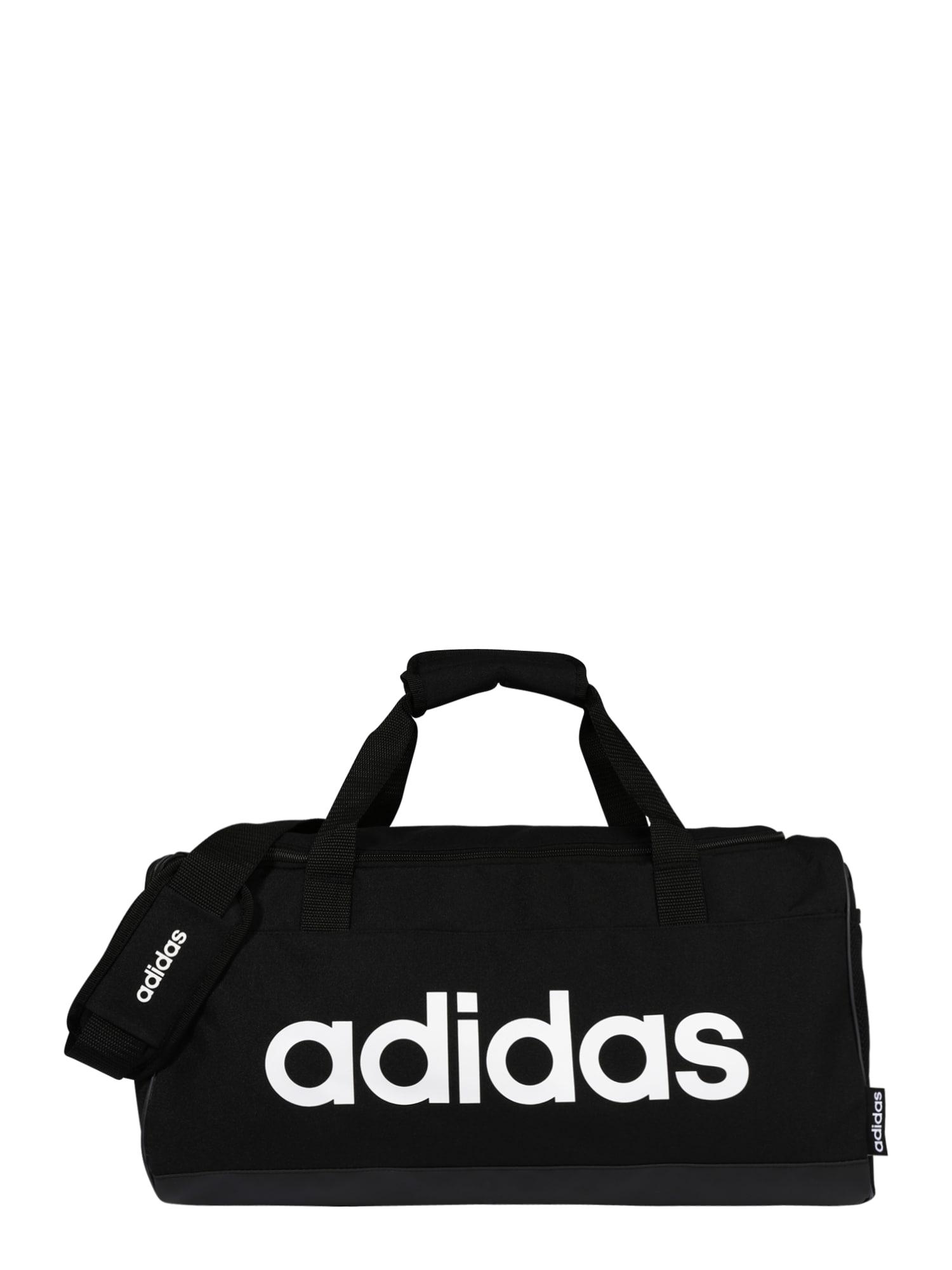 ADIDAS PERFORMANCE Sportinis krepšys balta / juoda