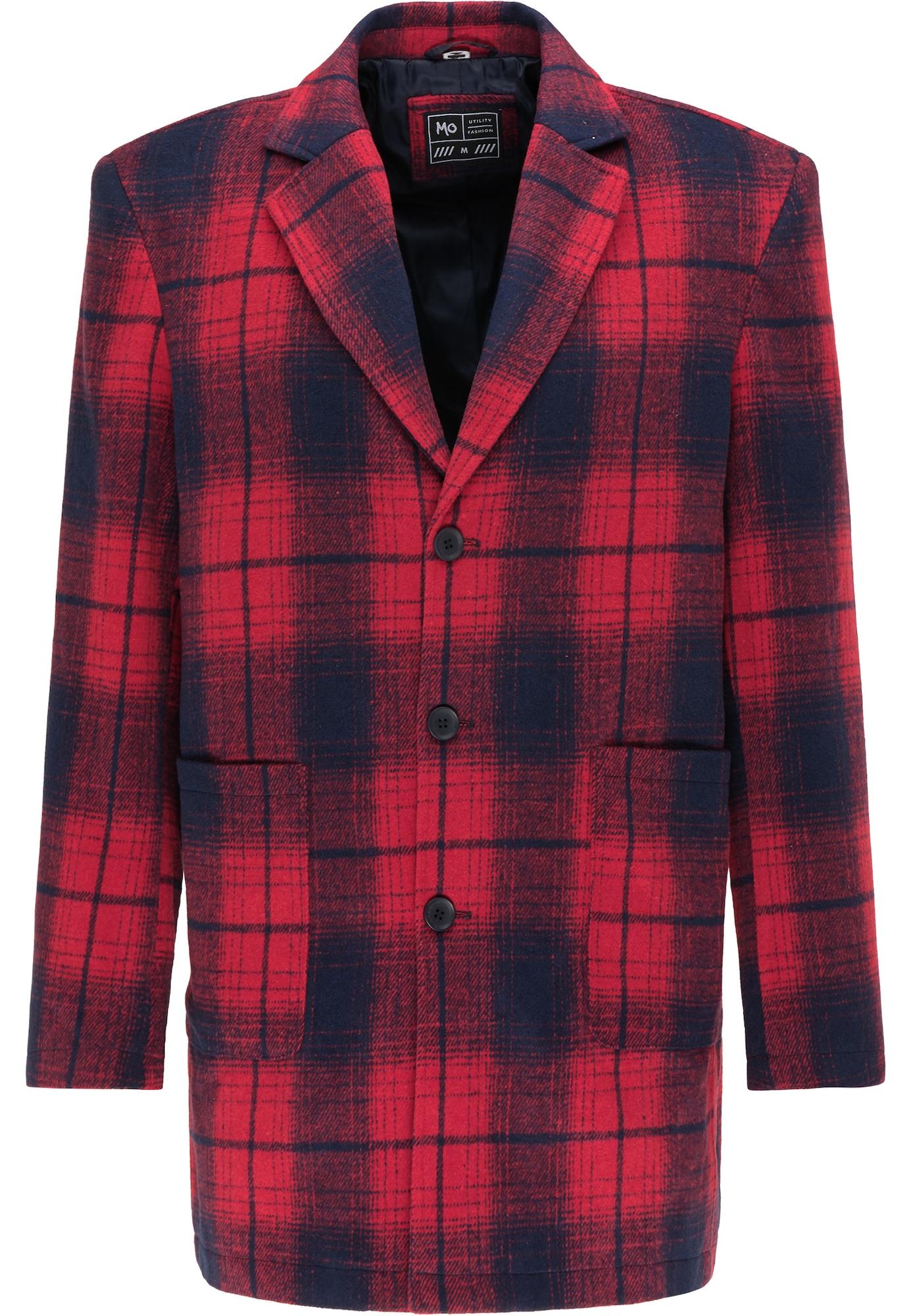 MO Demisezoninis paltas raudona / tamsiai pilka
