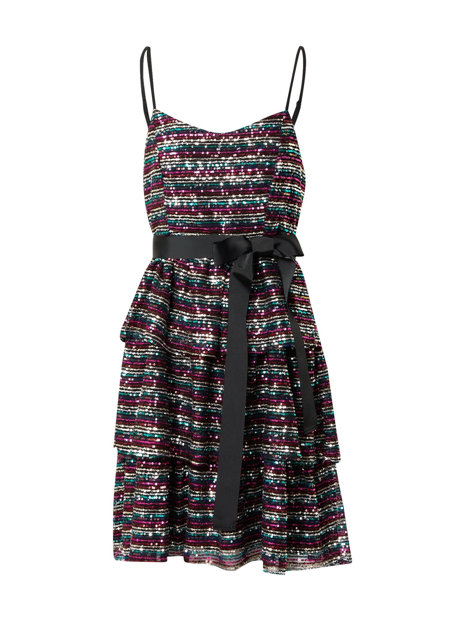 Forever Unique Suknelė mišrios spalvos / juoda