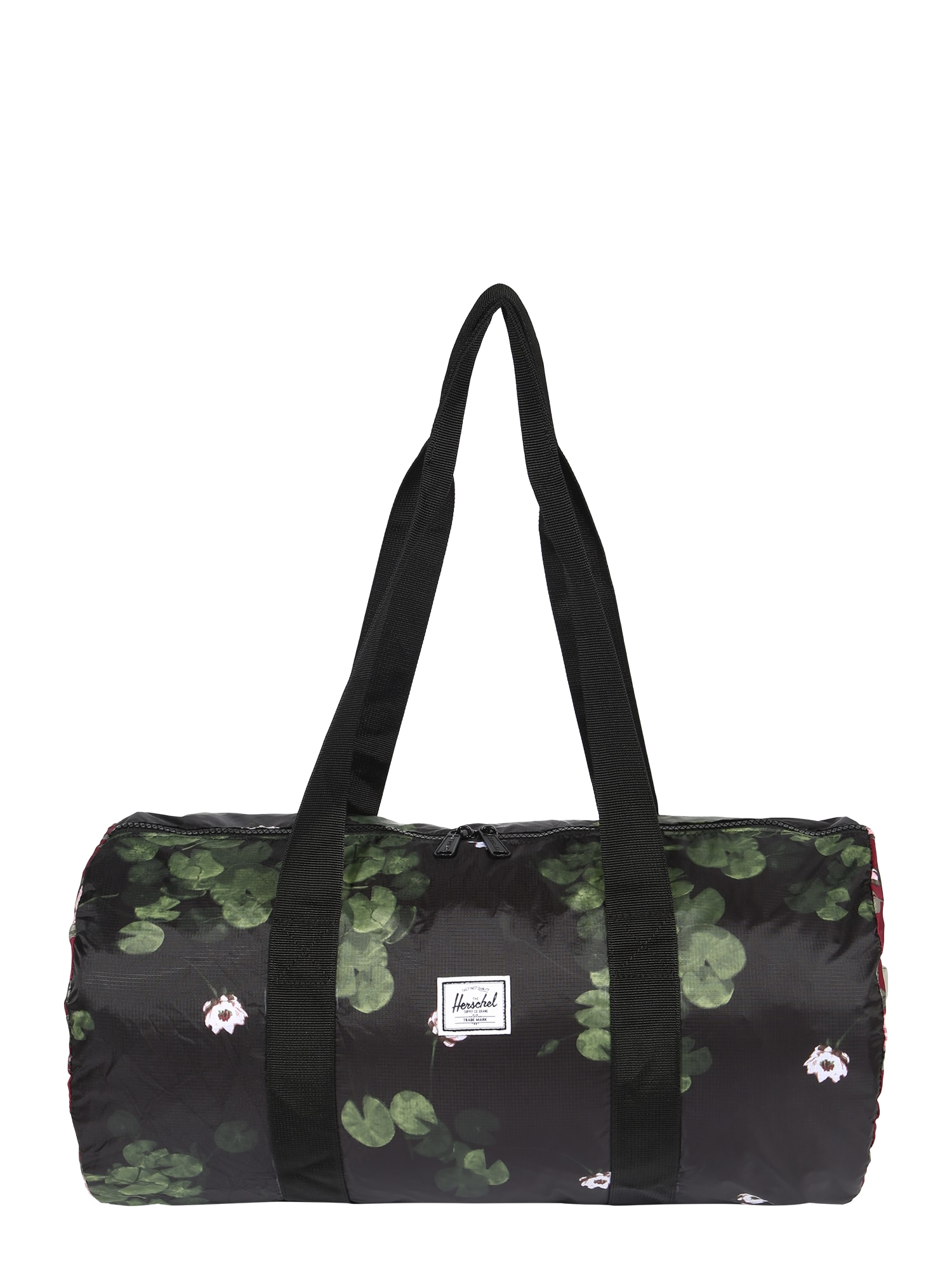 Herschel Cestovní taška  černá / růžová / bobule / mix barev / olivová