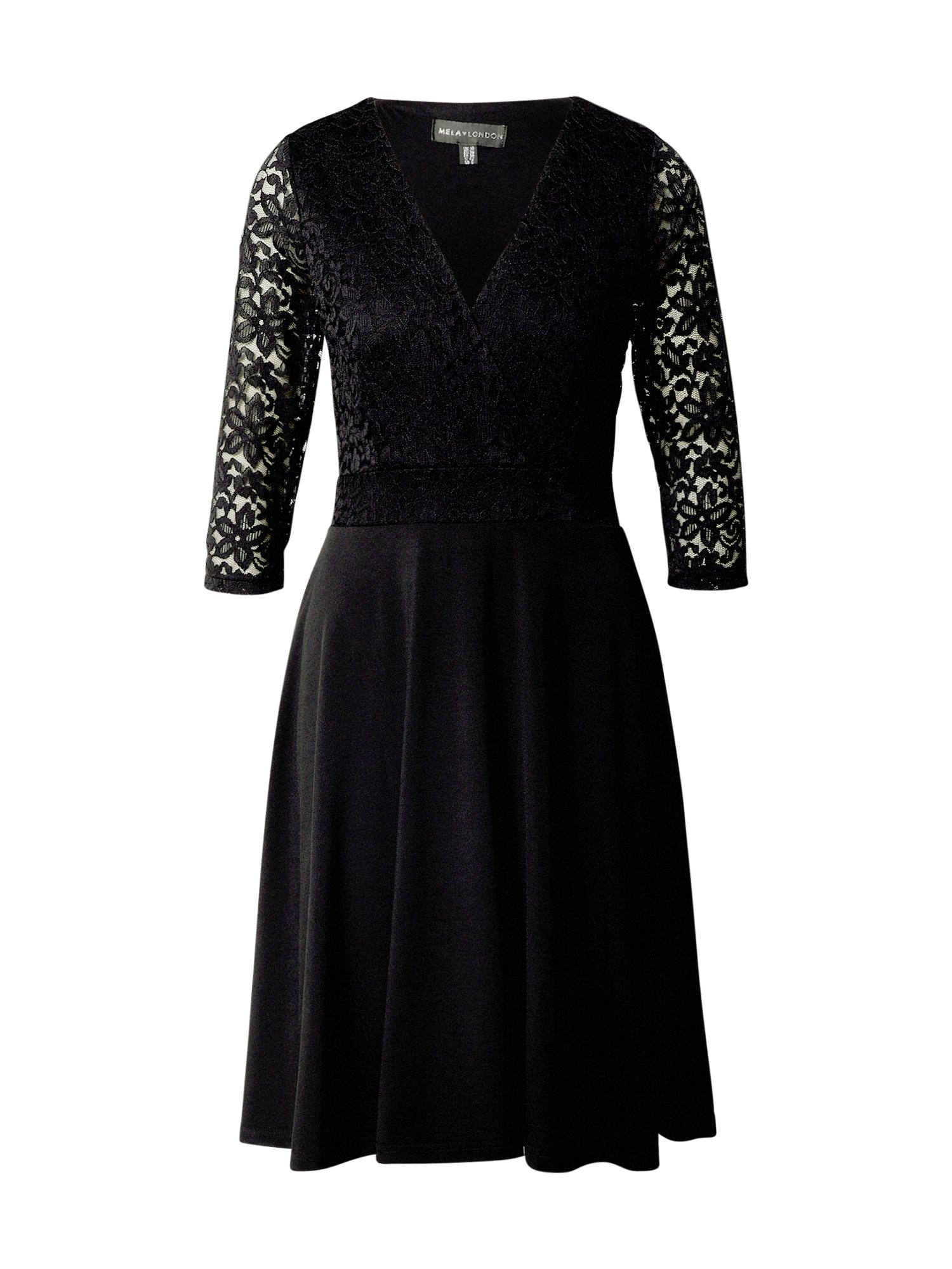 Mela London Suknelė juoda