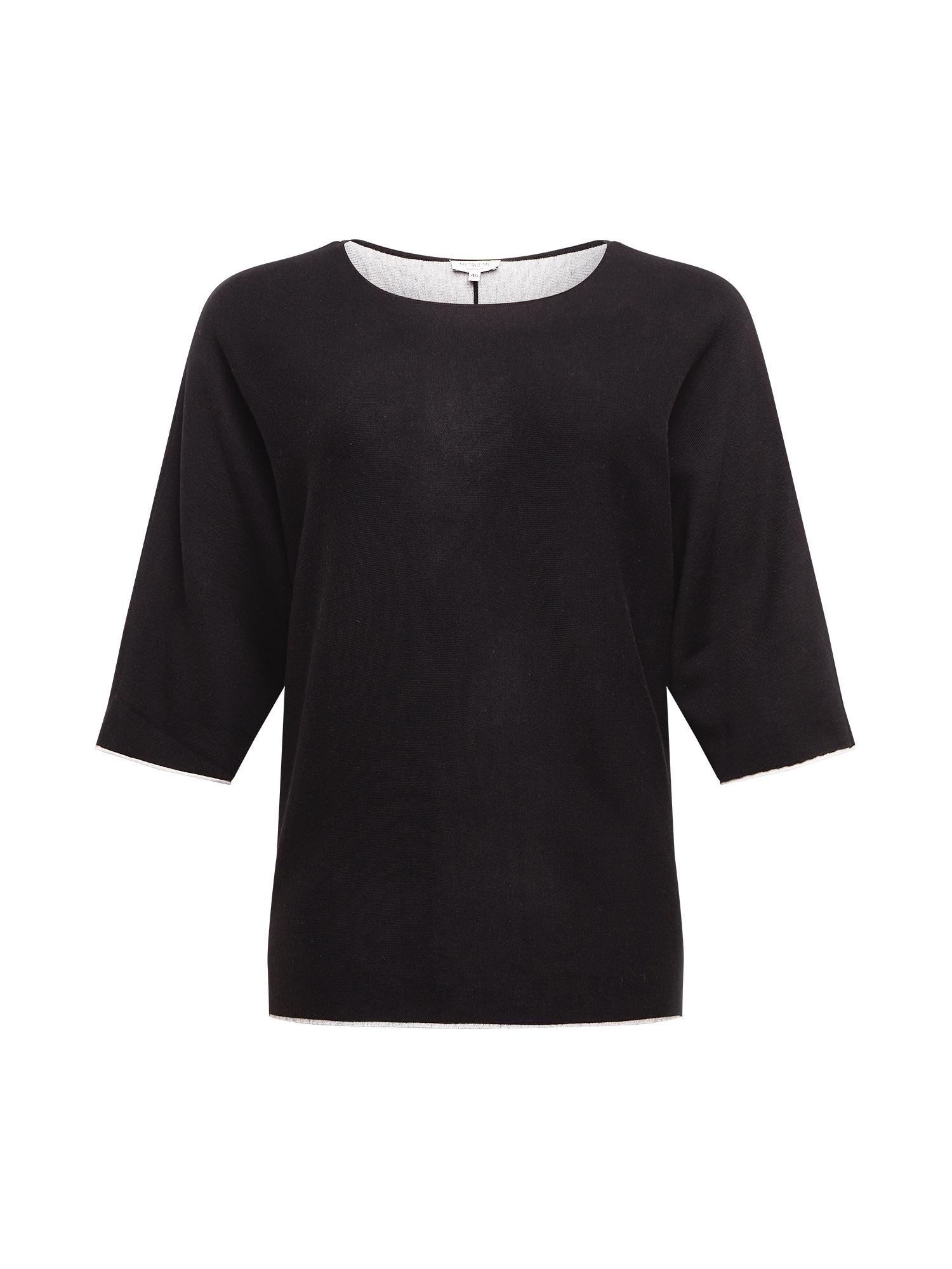 MY TRUE ME Megztinis juoda