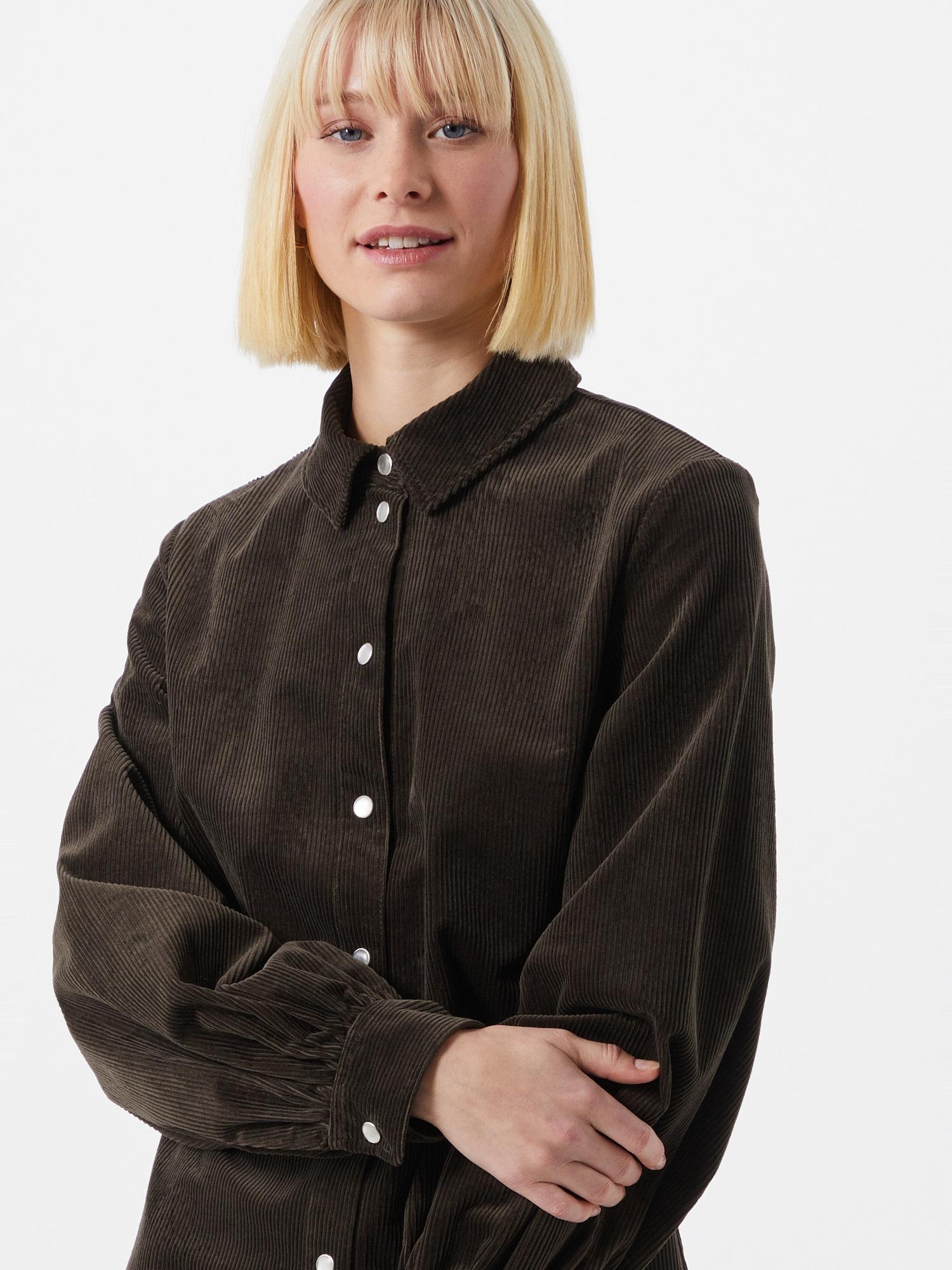 Samsoe Samsoe Košeľové šaty 'Moonstone'  kaki.