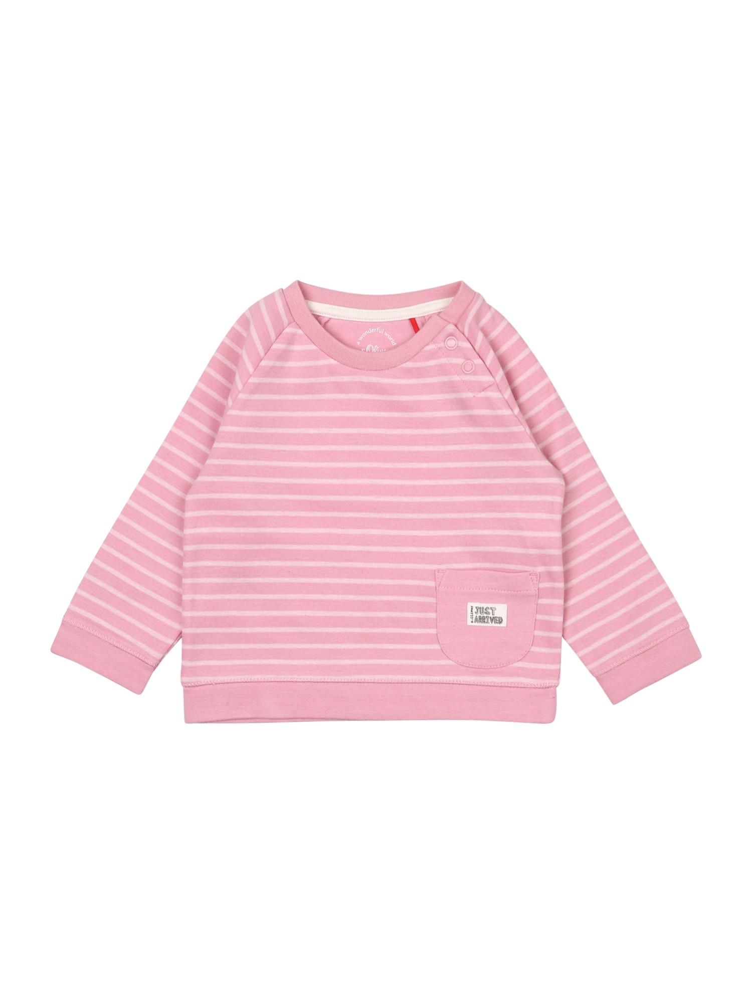 s.Oliver Mikina  bílá / pink