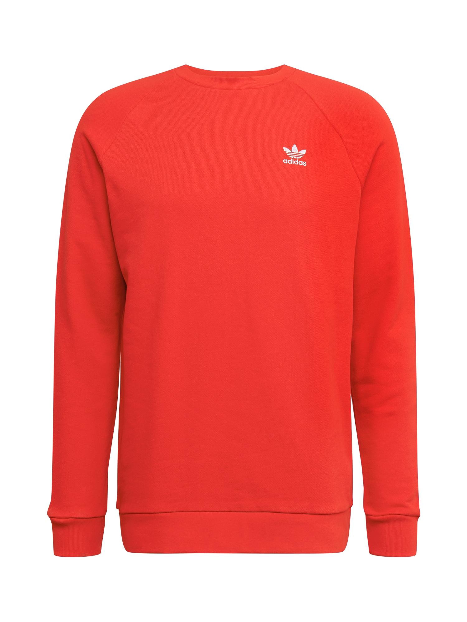 ADIDAS ORIGINALS Megztinis be užsegimo šviesiai raudona