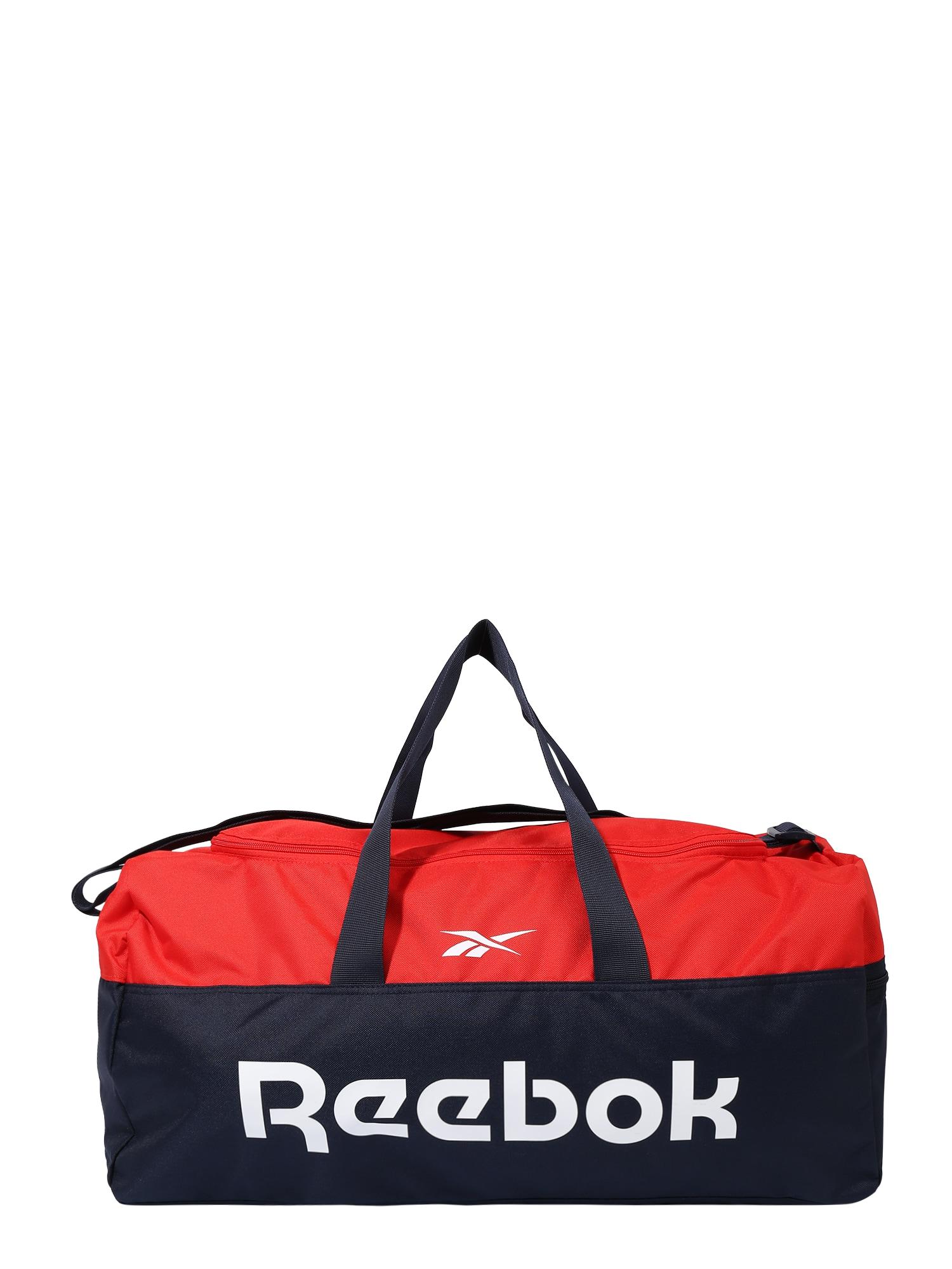 REEBOK Sportovní taška  červená / noční modrá