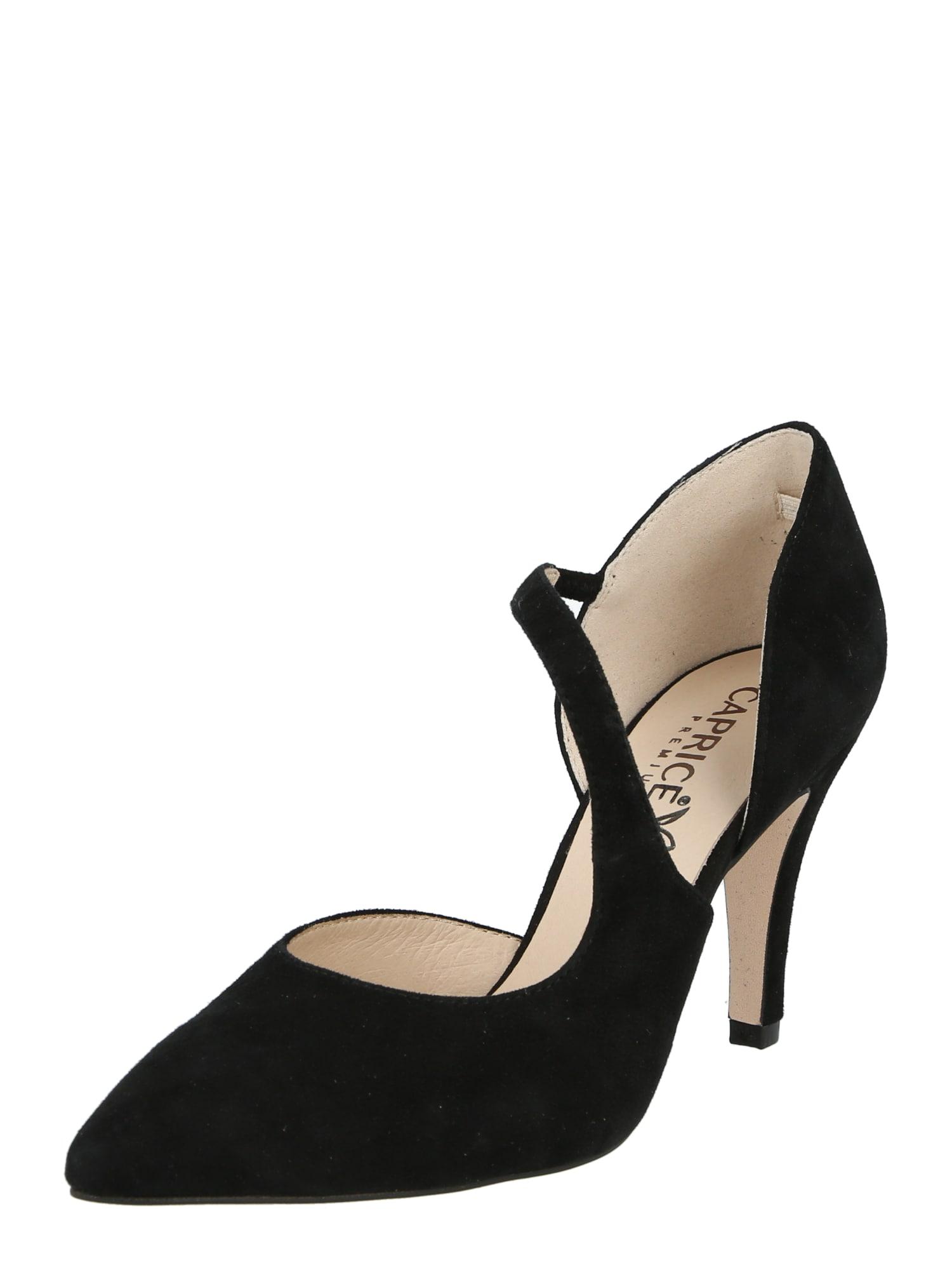CAPRICE Sandalai juoda