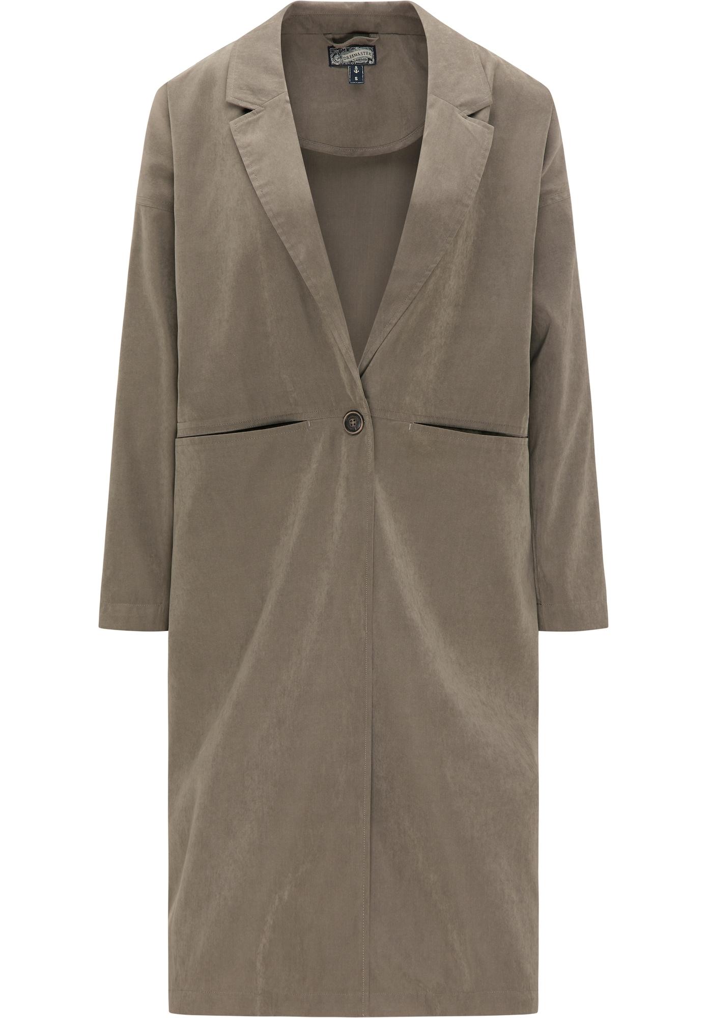 DreiMaster Vintage Vasarinis paltas rusvai pilka