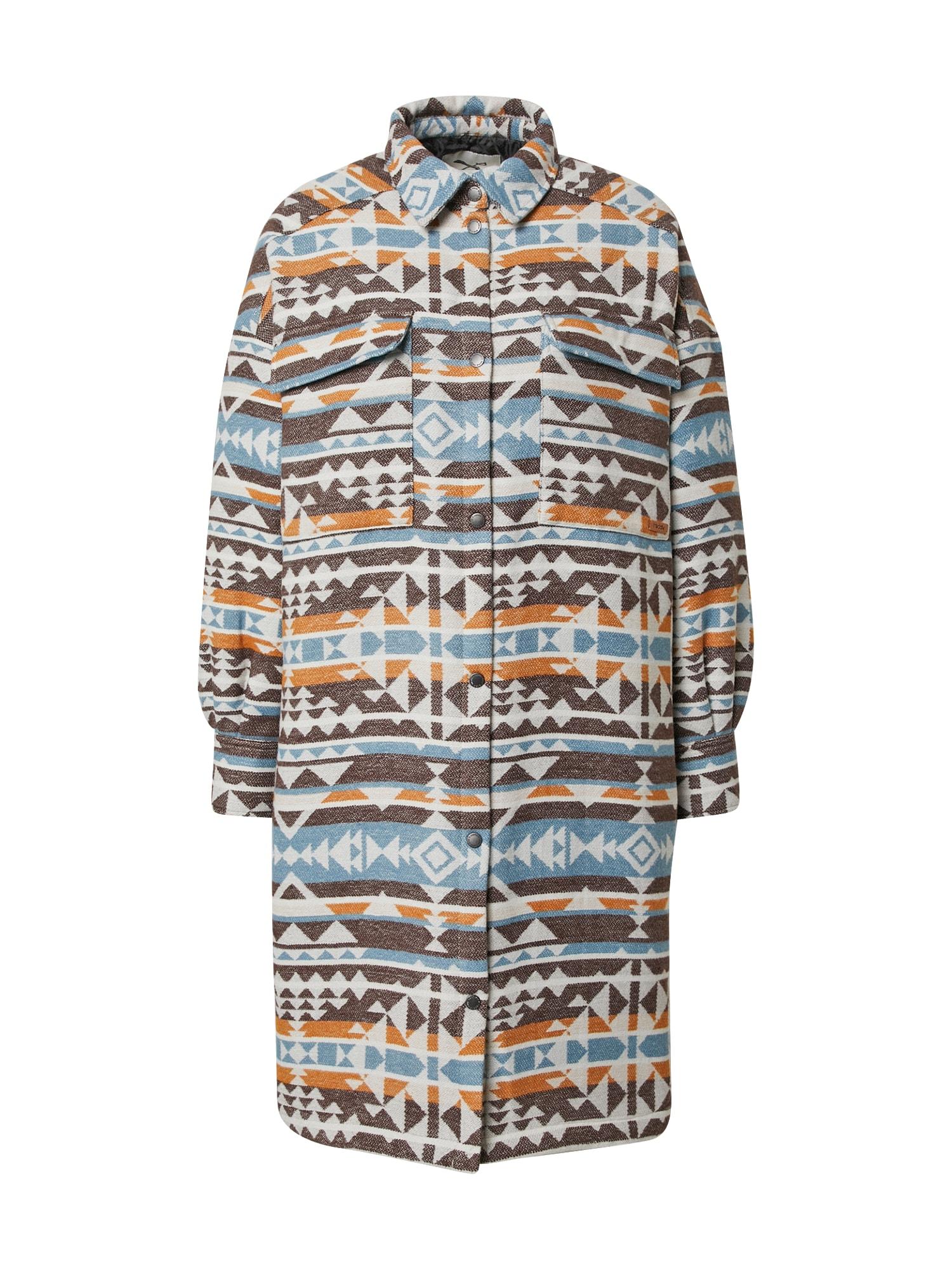 Iriedaily Přechodný kabát  béžová / mix barev