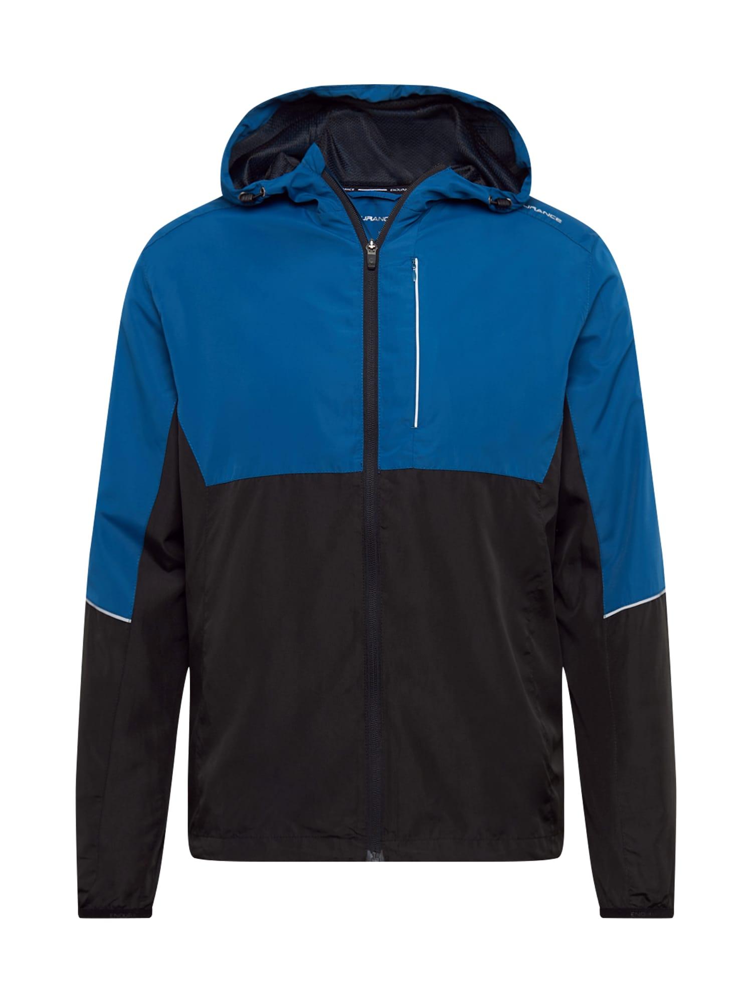 ENDURANCE Sportovní bunda 'Thorow'  nebeská modř / černá / bílá