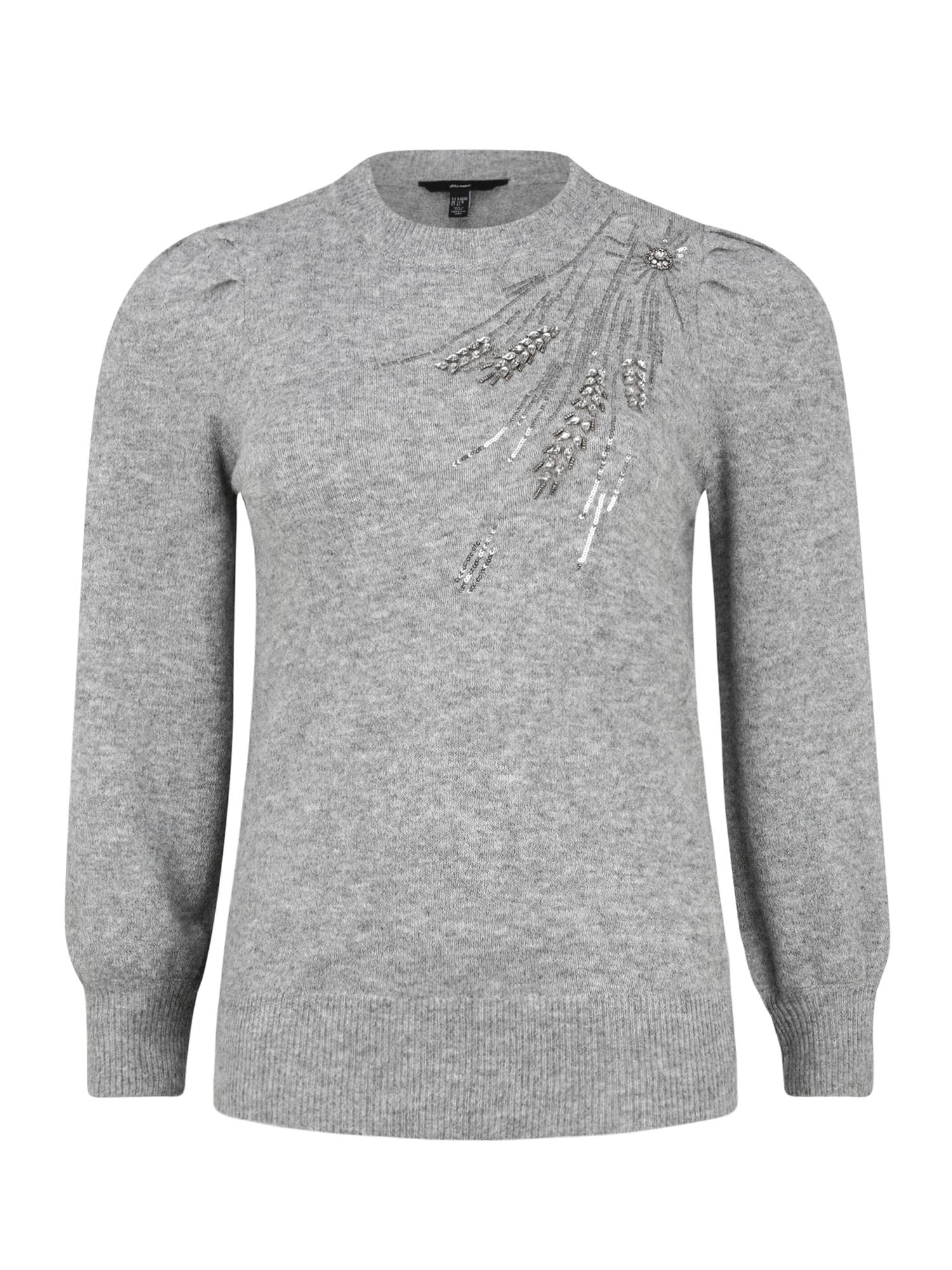 Vero Moda Curve Svetr 'Laria'  šedý melír