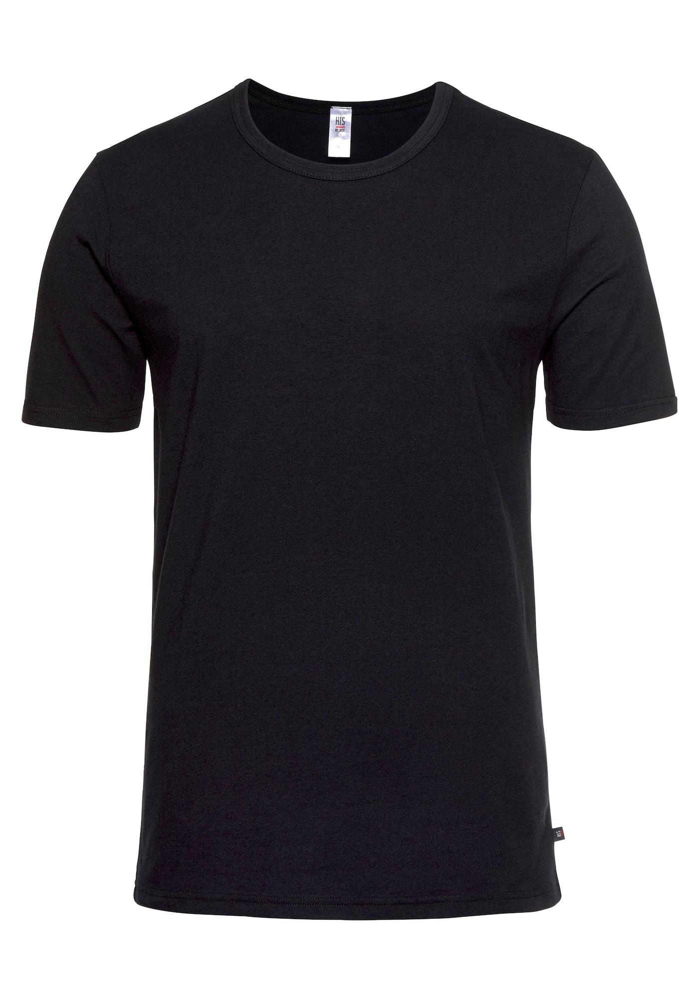 H.I.S Marškinėliai juoda