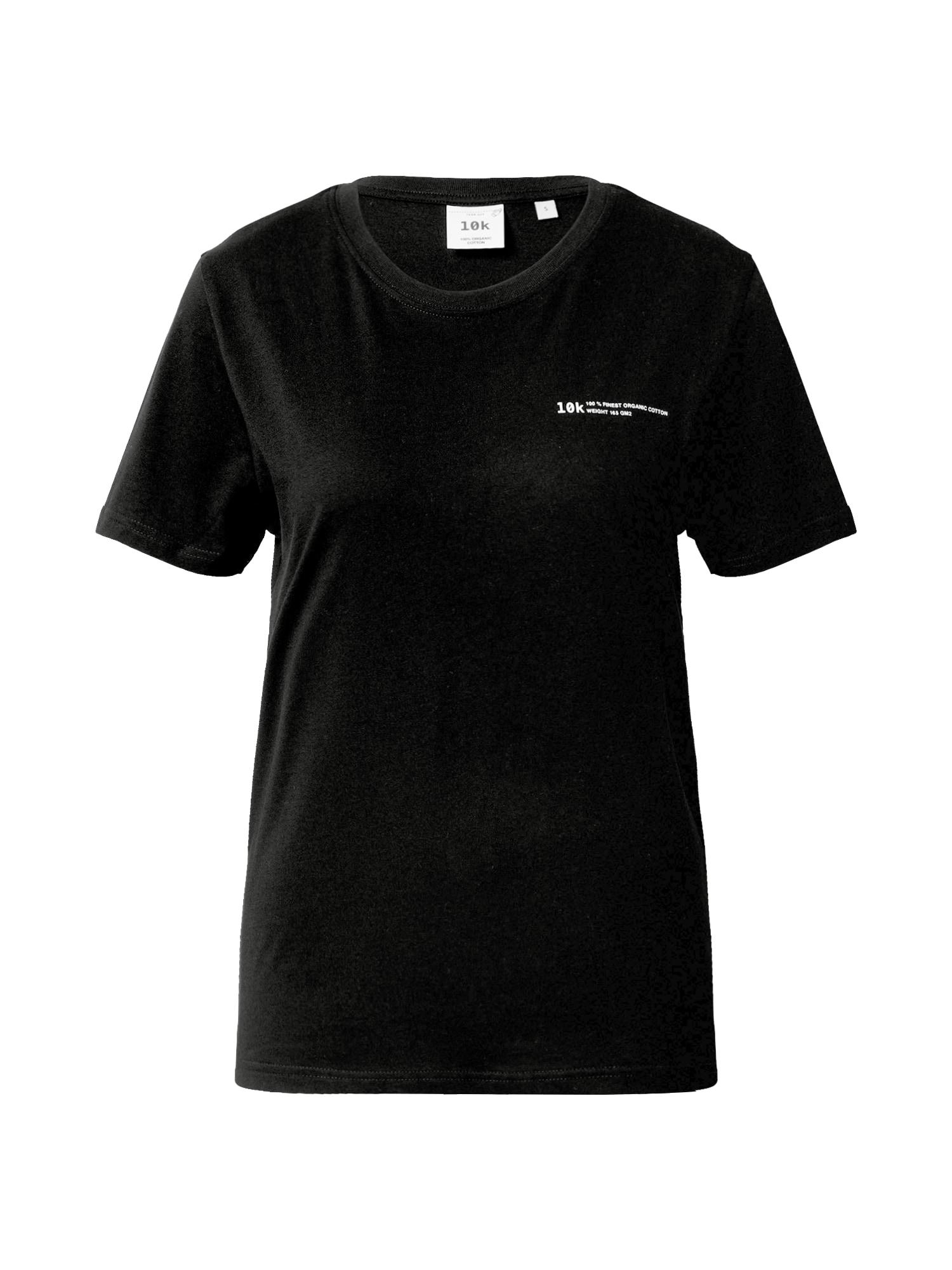 10k Marškinėliai juoda