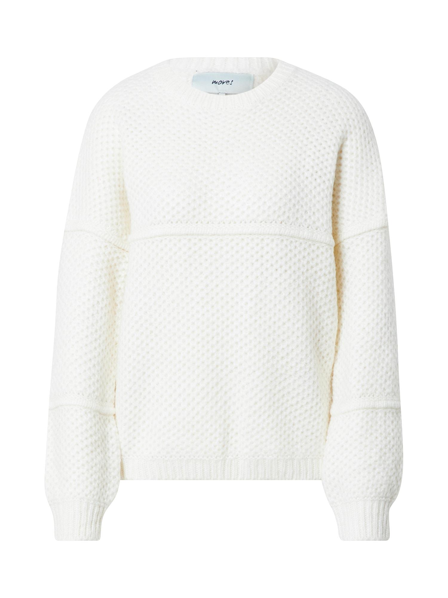Moves Megztinis balta