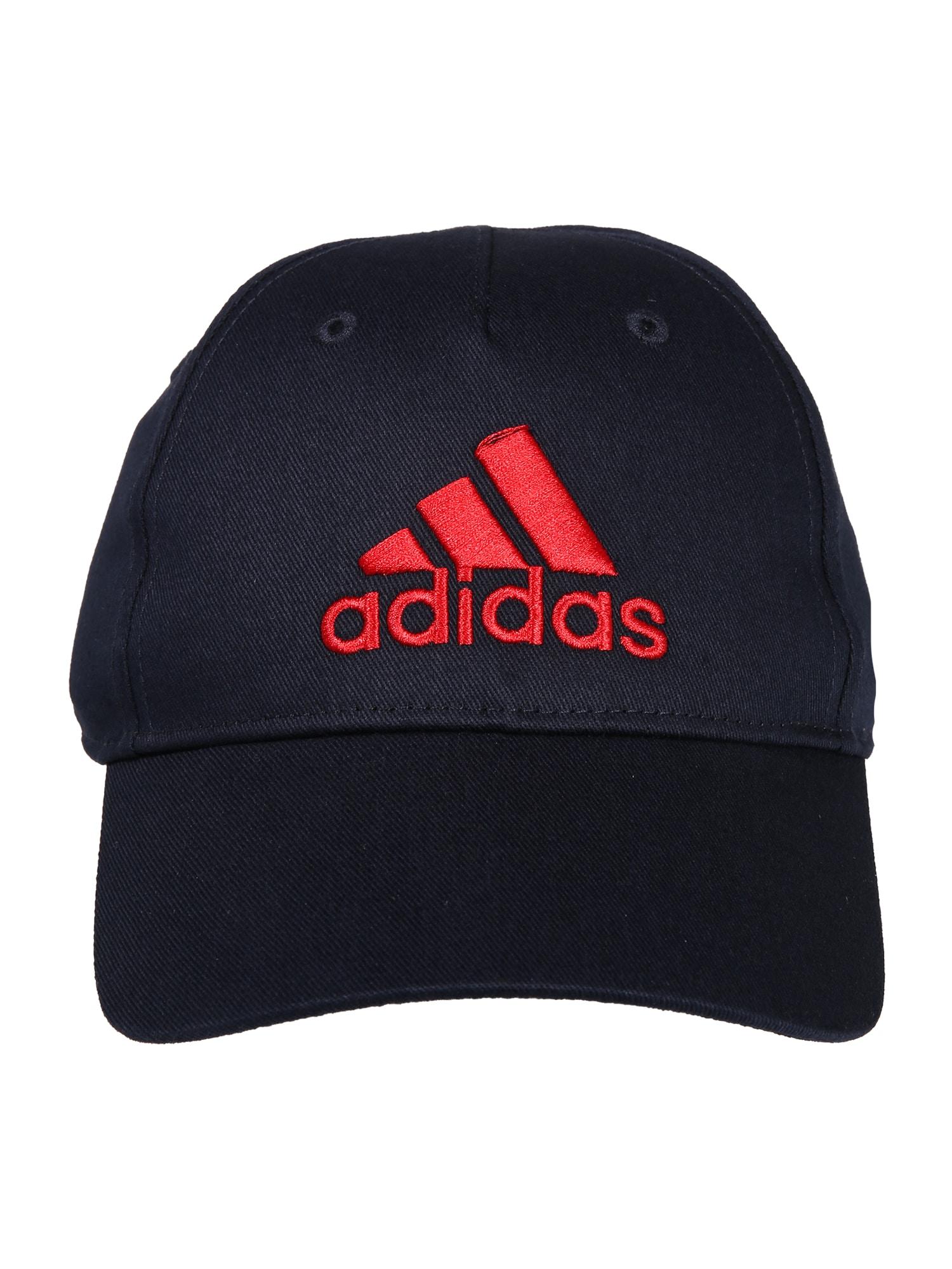 ADIDAS PERFORMANCE Sportinė kepurė tamsiai mėlyna / raudona